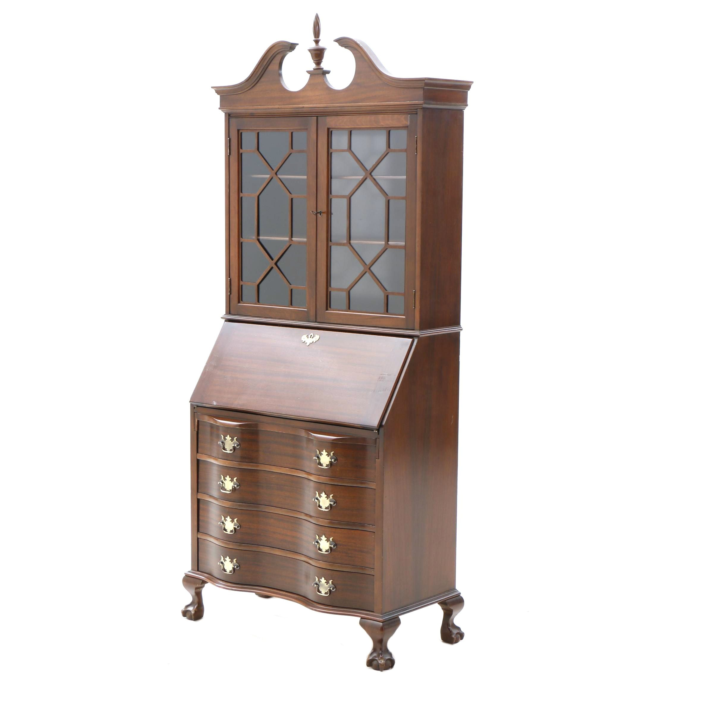 A Chippendale Style Secretary by Maddox Tables