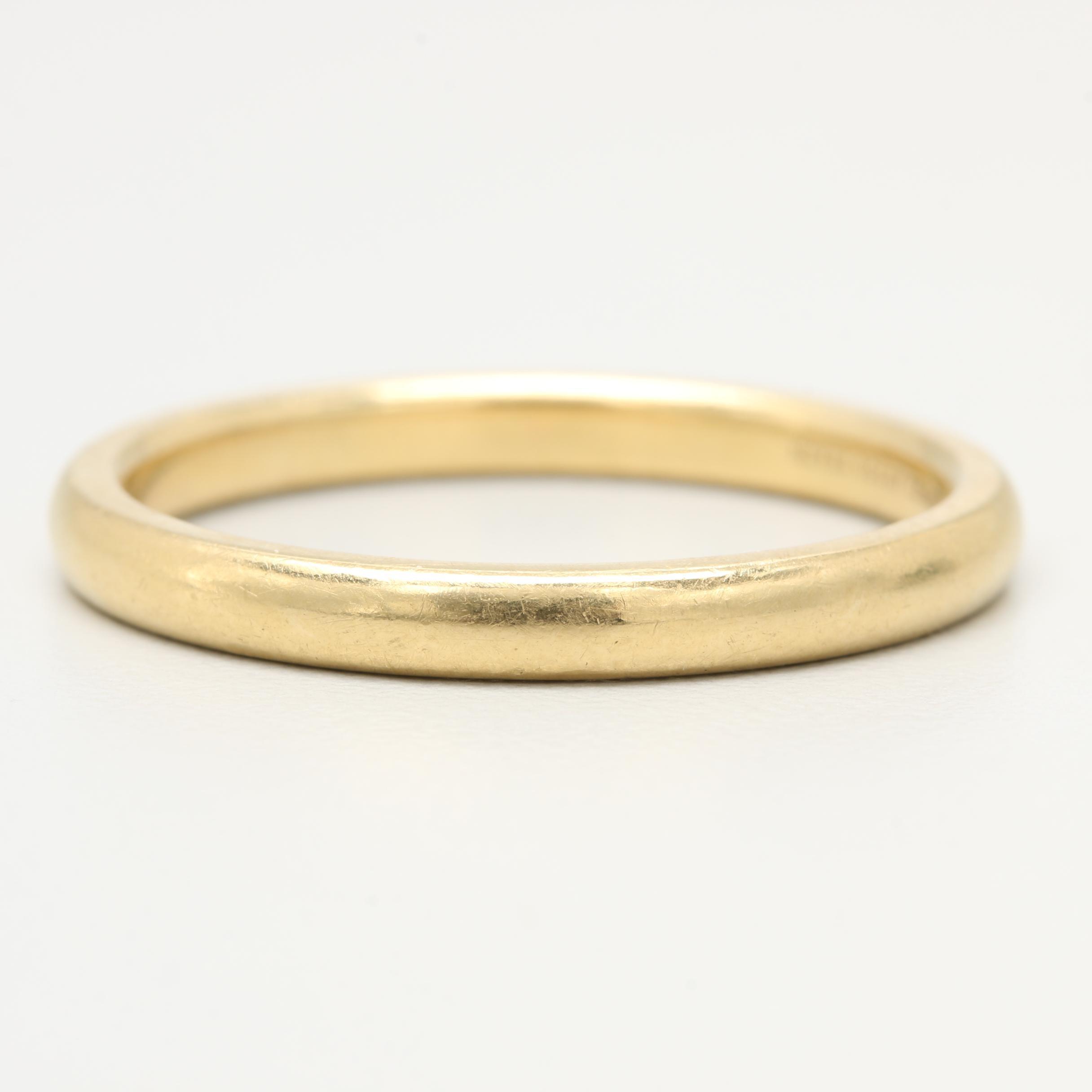 Elsa Peretti for Tiffany & Co. 18K Yellow Gold Ring