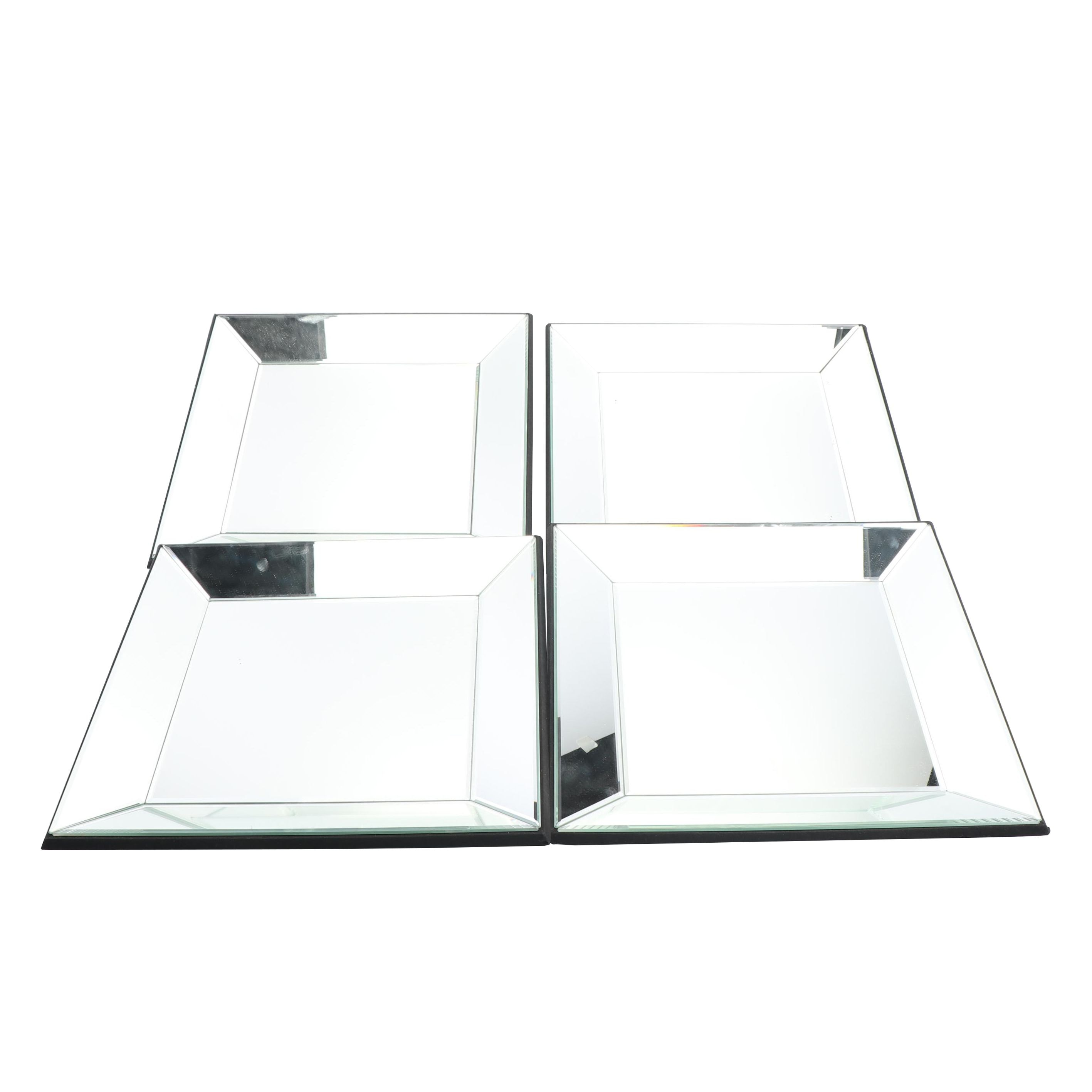 Office Star Products Beveled Glass Accent Mirror Set