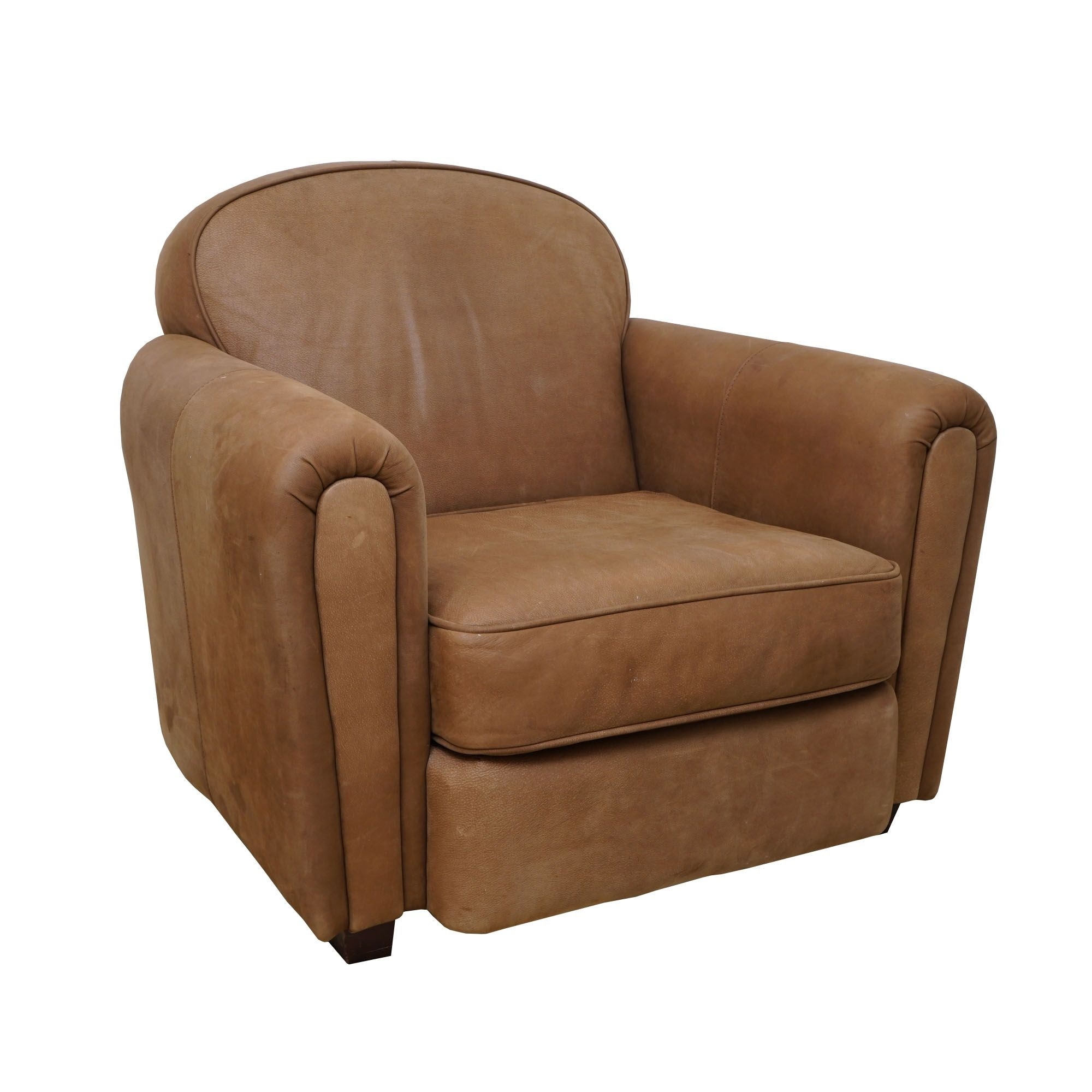 Gentil Faux Leather Armchair ...