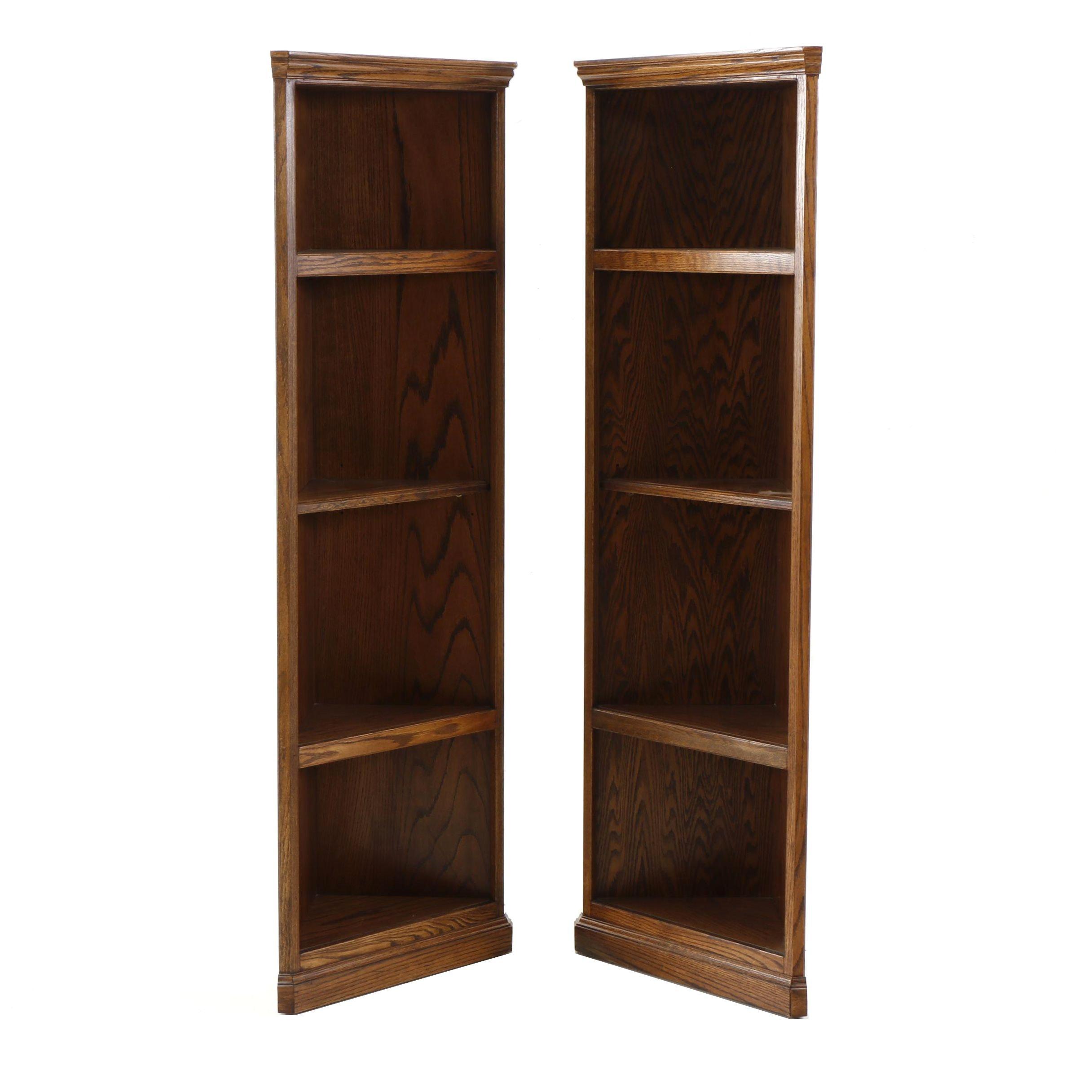 Contemporary Corner Bookcases