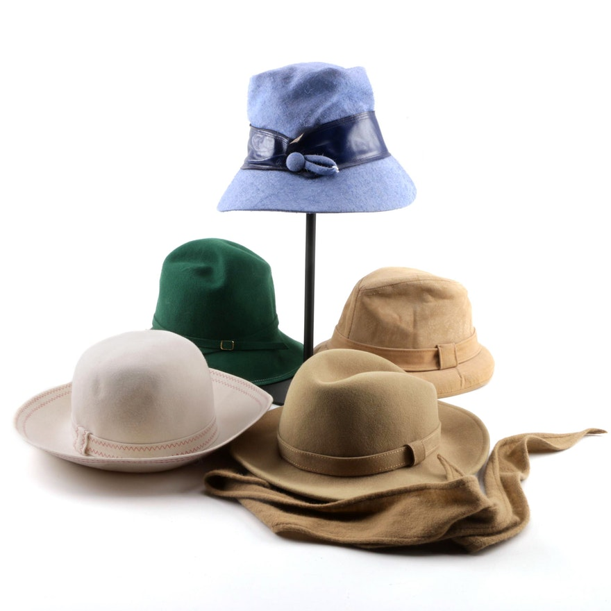 0f02804798d10 Vintage Hats including Stetson