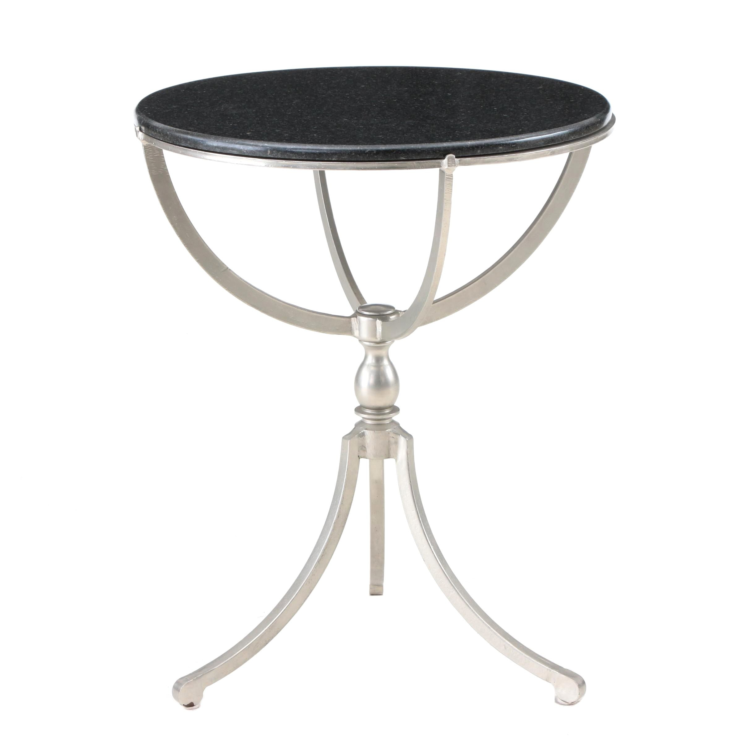 Granite Top Accent Table by Cardiff Furniture
