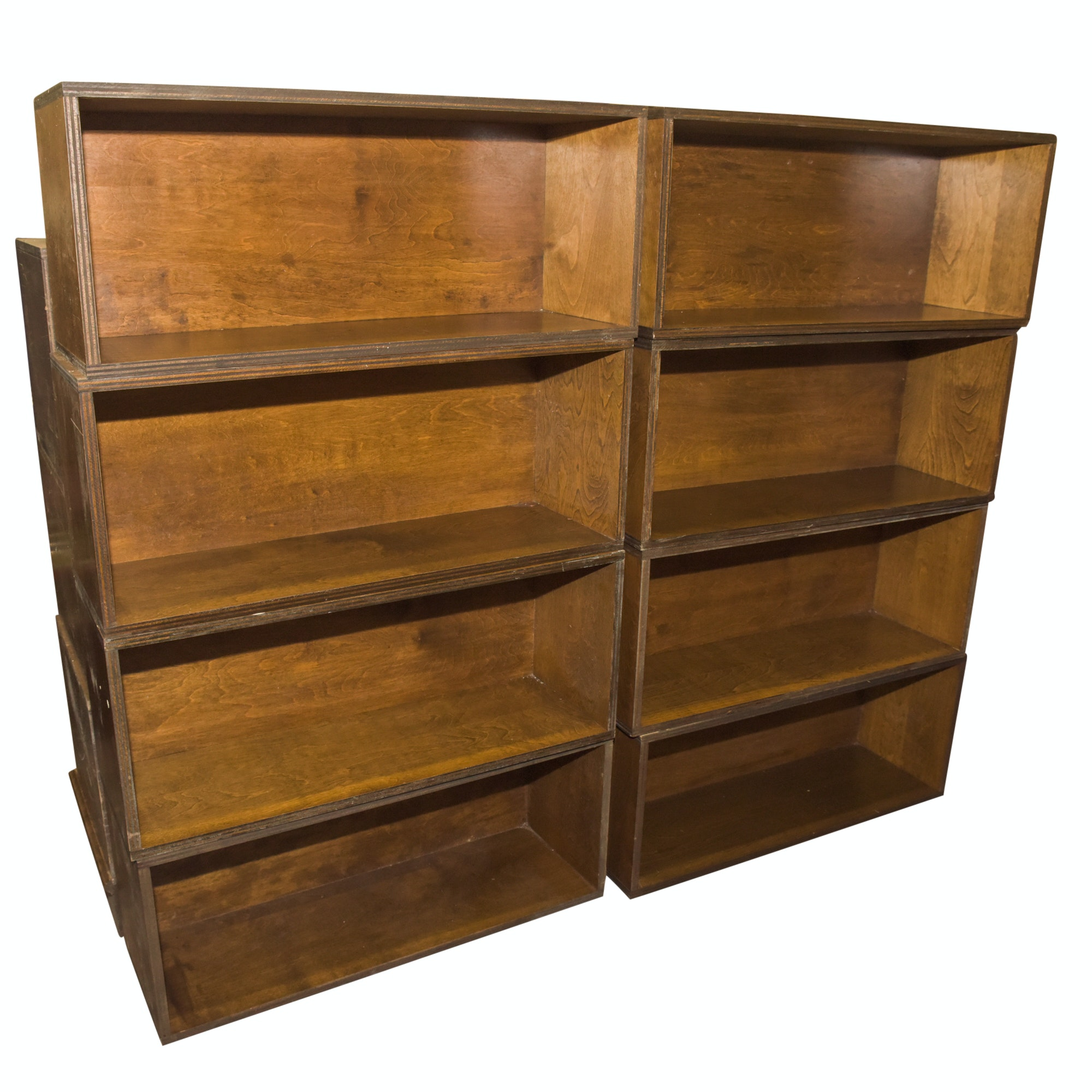 Modular Wooden Bookcases