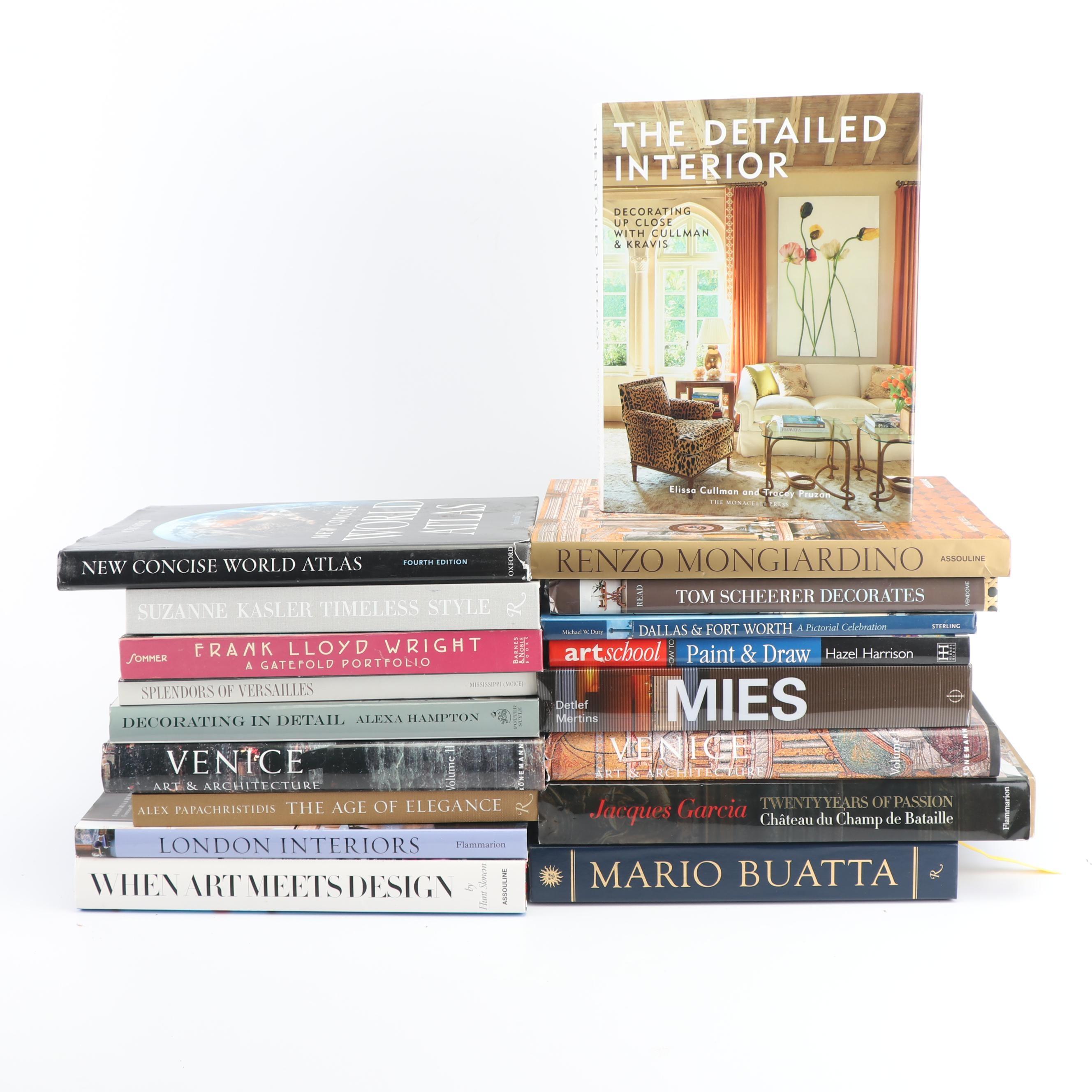 Art, Architecture and Design Books
