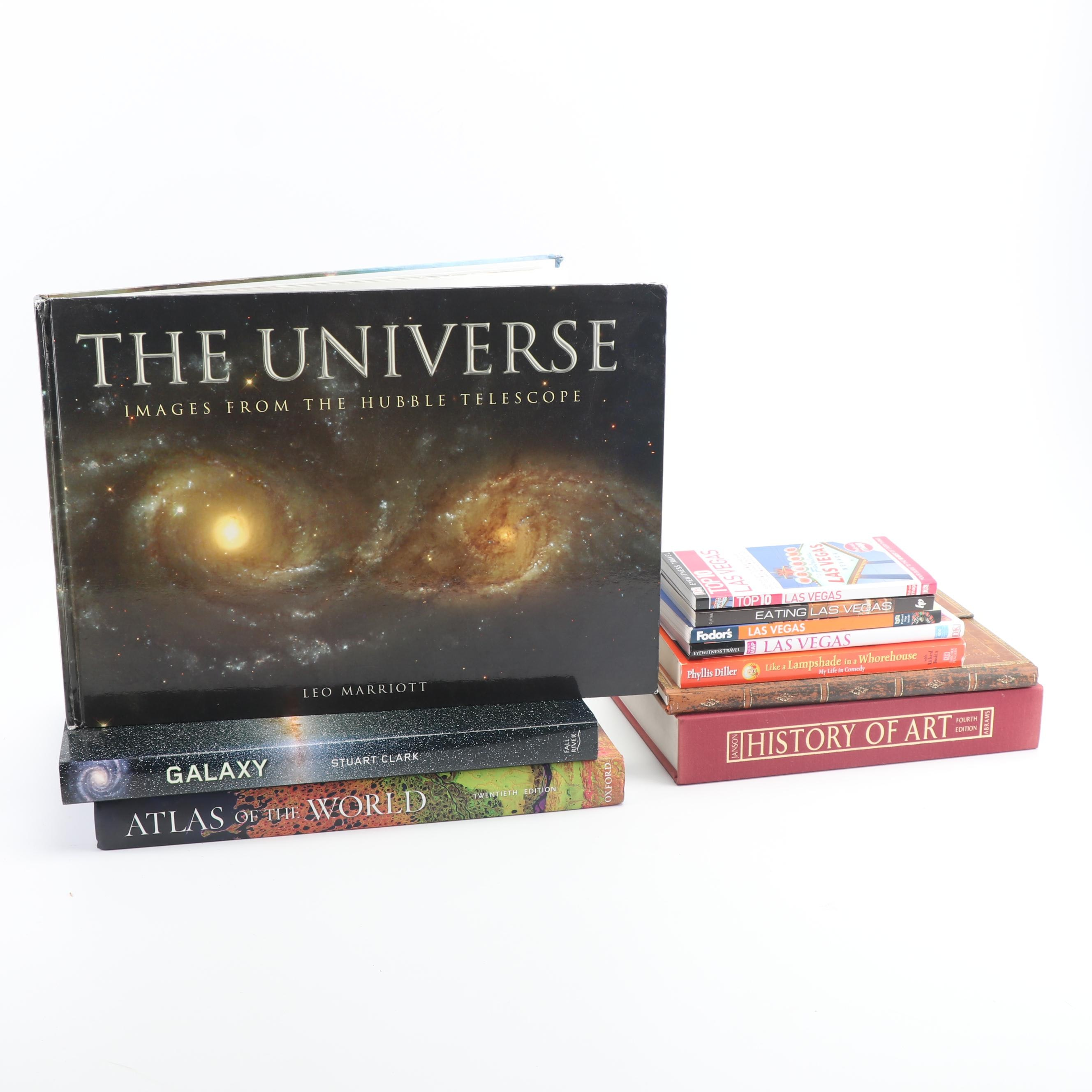Nonfiction Books on the Universe, Art History and Las Vegas Travel