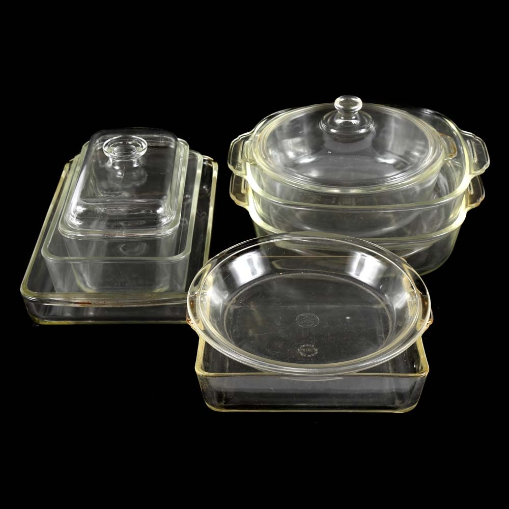 Vintage Bakeware featuring Pyrex