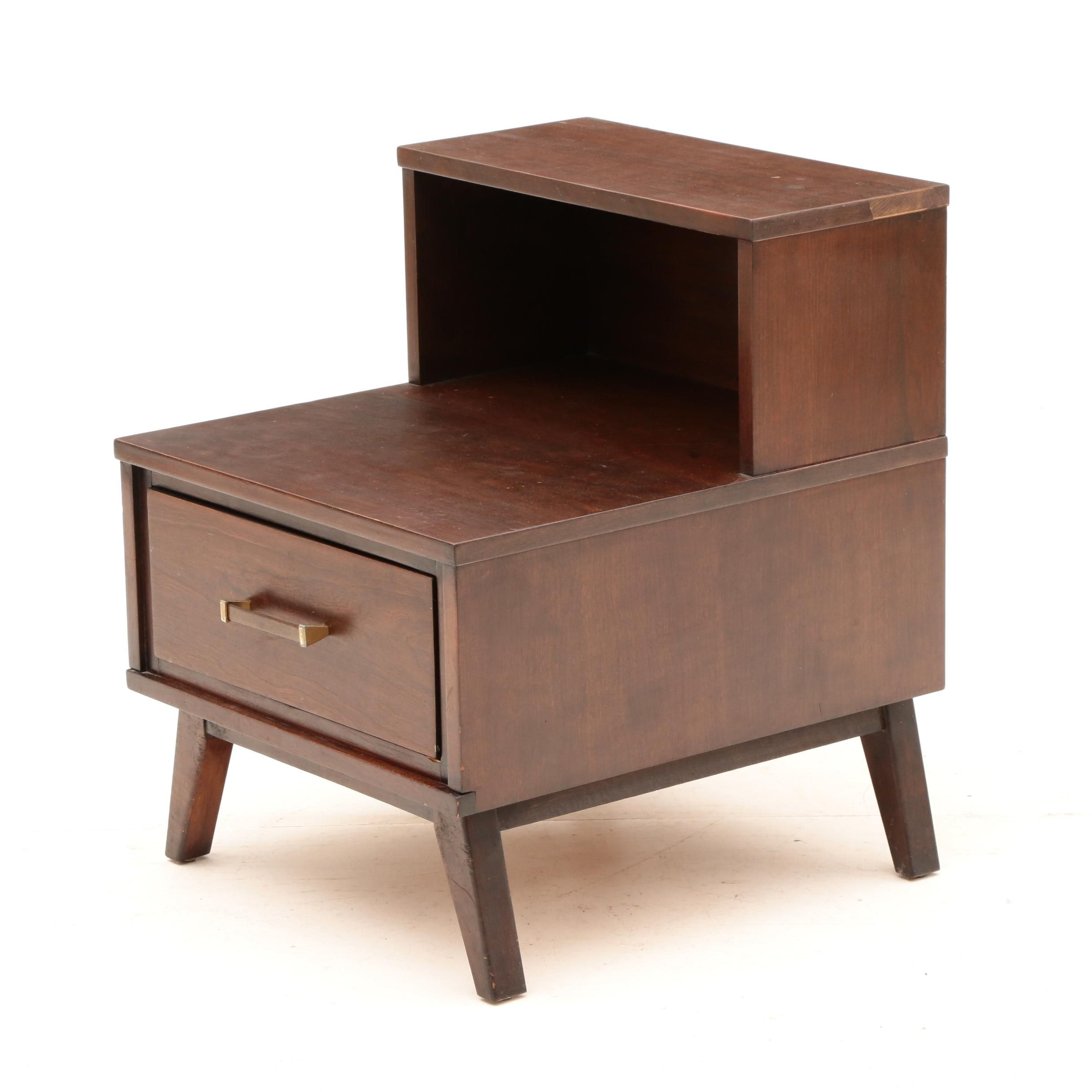"Mid Century Modern ""Mainline"" Nightstand by Hooker Furniture"
