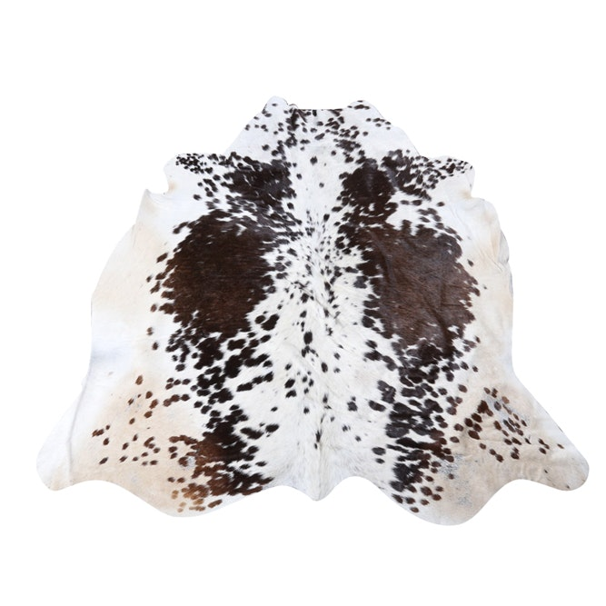 Cow Hide Accent Rug