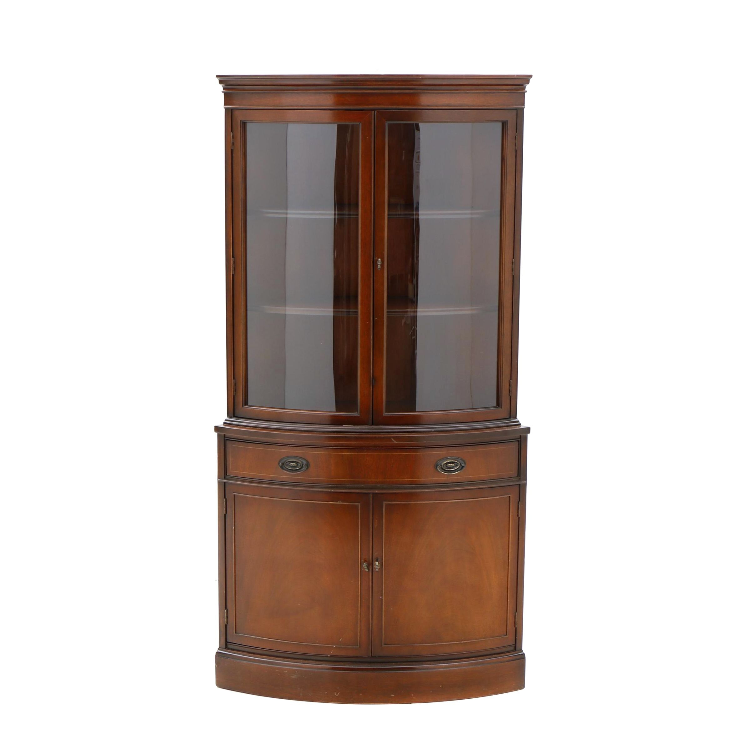 Corner China Cabinet by Bassett Furniture