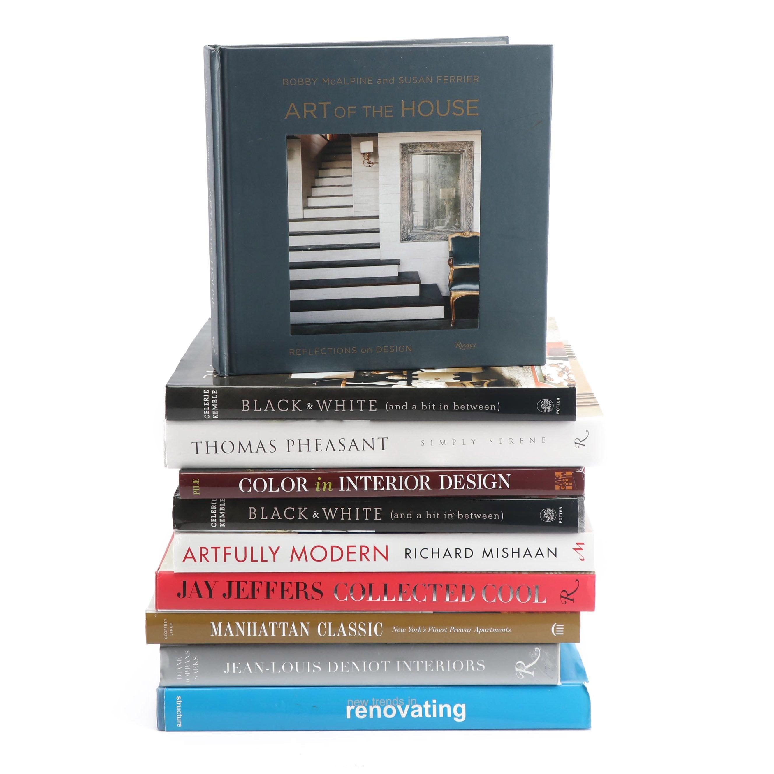 Home Decor and Interior Decorating Books