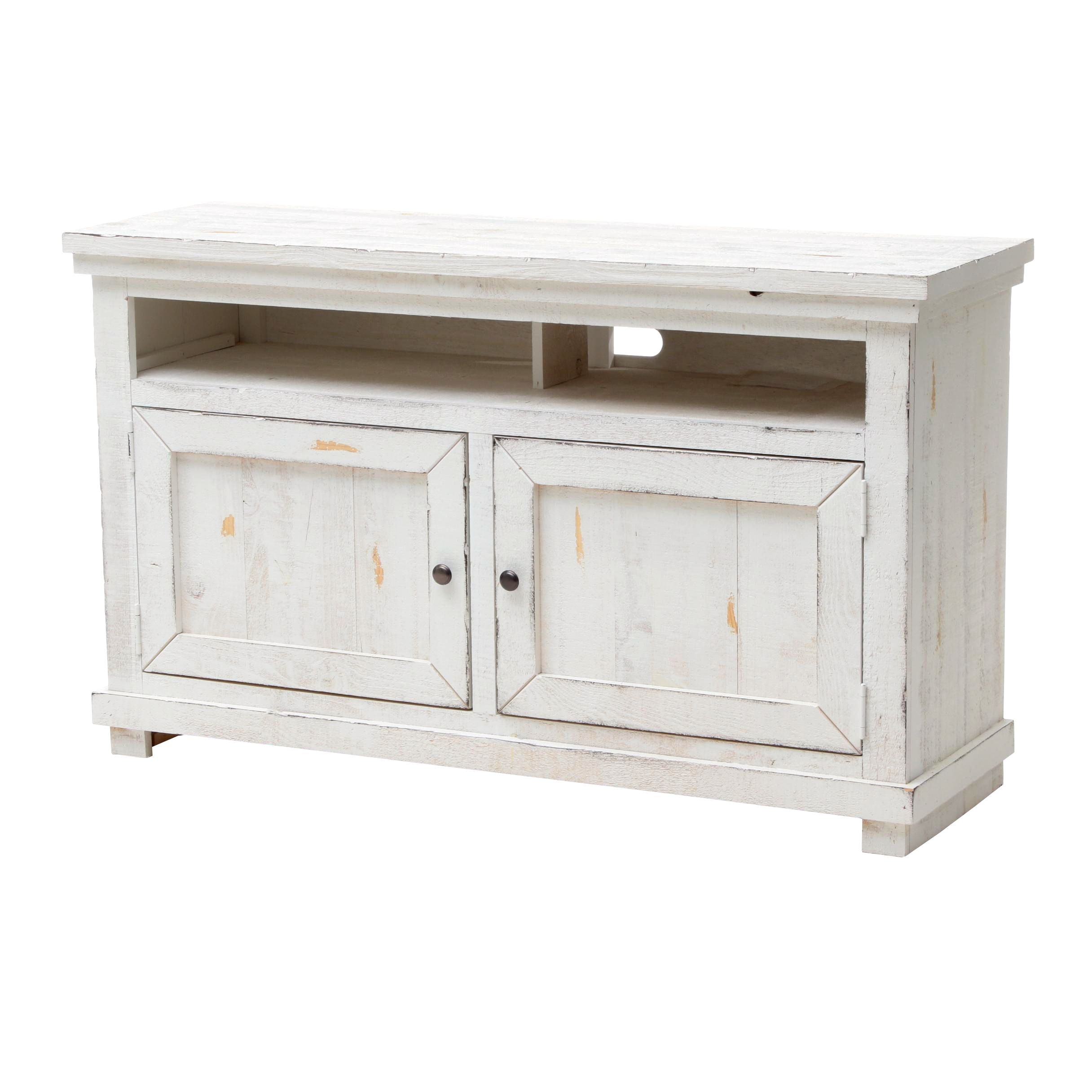Rustic Style Media Console Cabinet by Progressive Furniture Inc.
