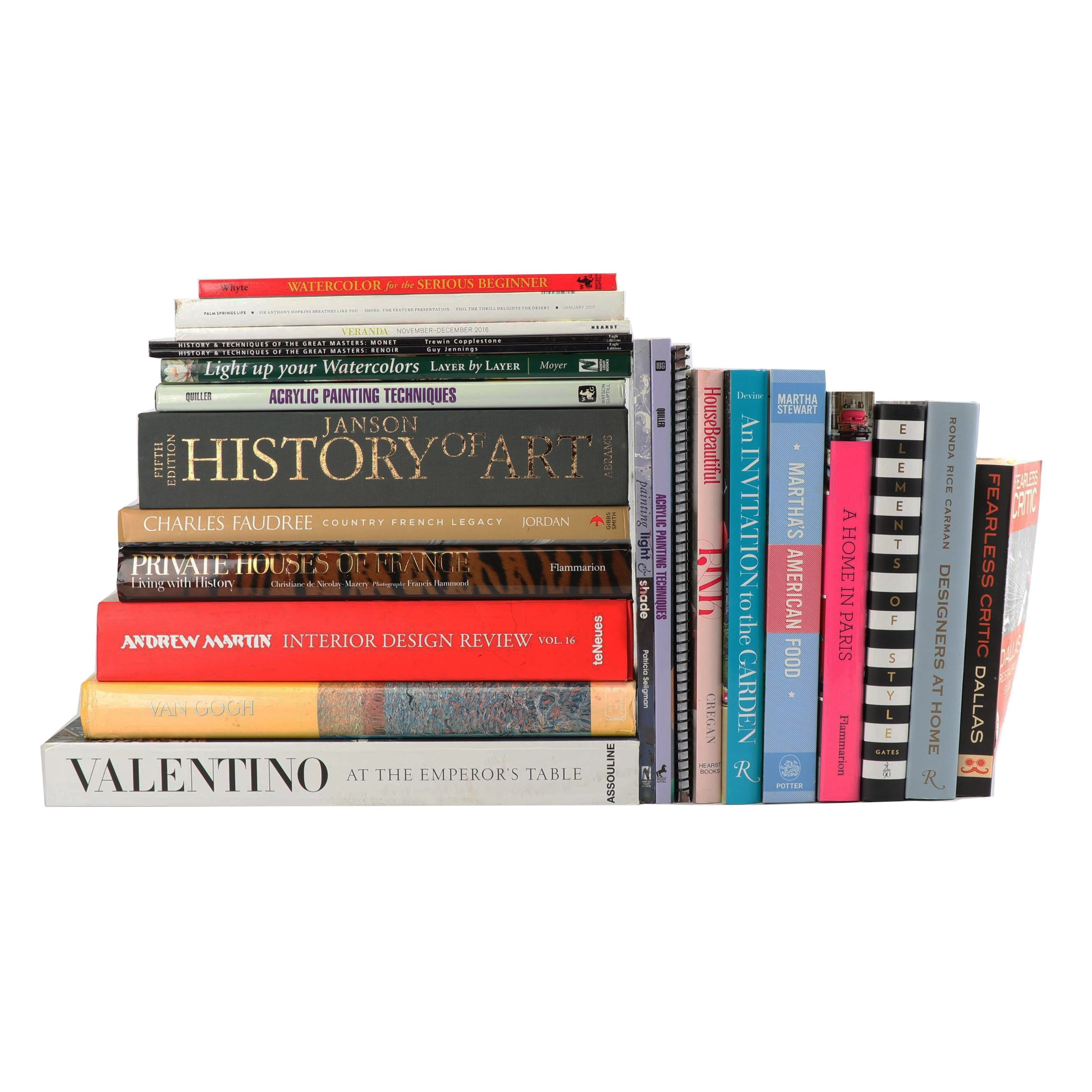 Art and Design Books and Magazines