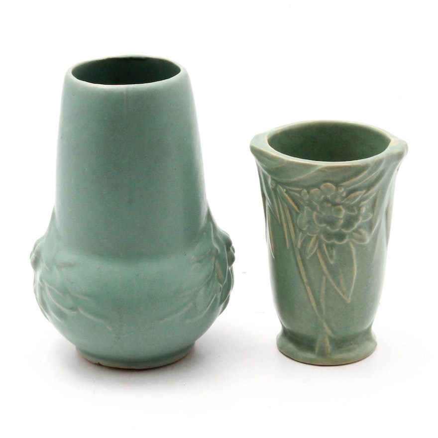 Brush Mccoy Vases Ebth
