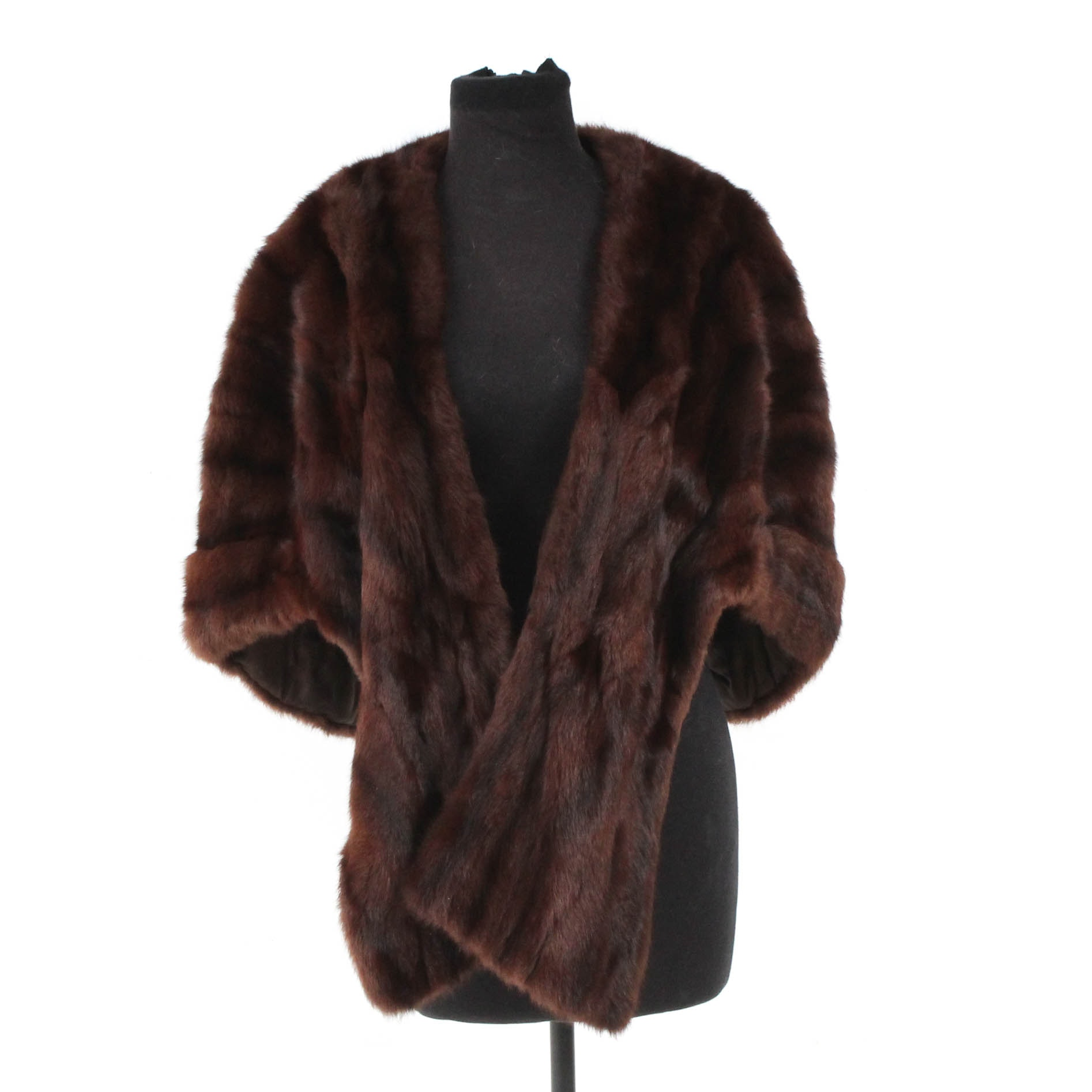 J. W. Brown Mink Fur Stole