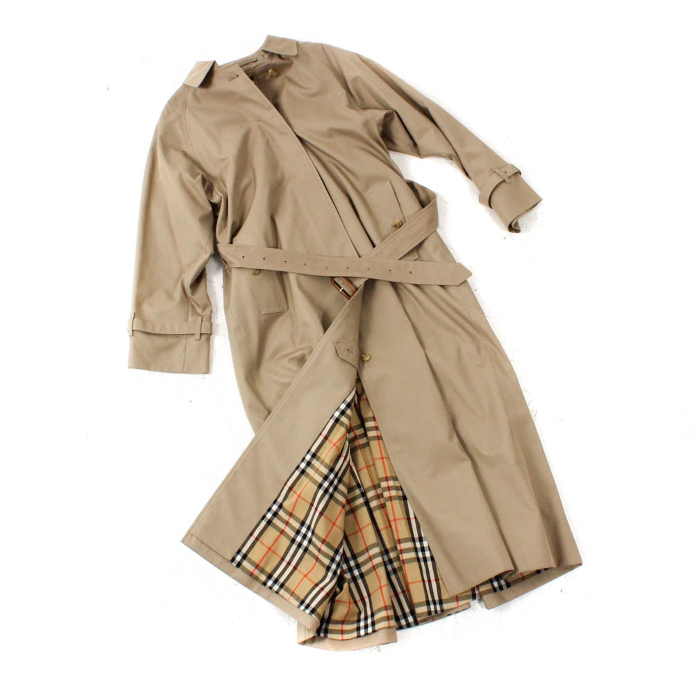Women's Burberry Khaki Trench Coat