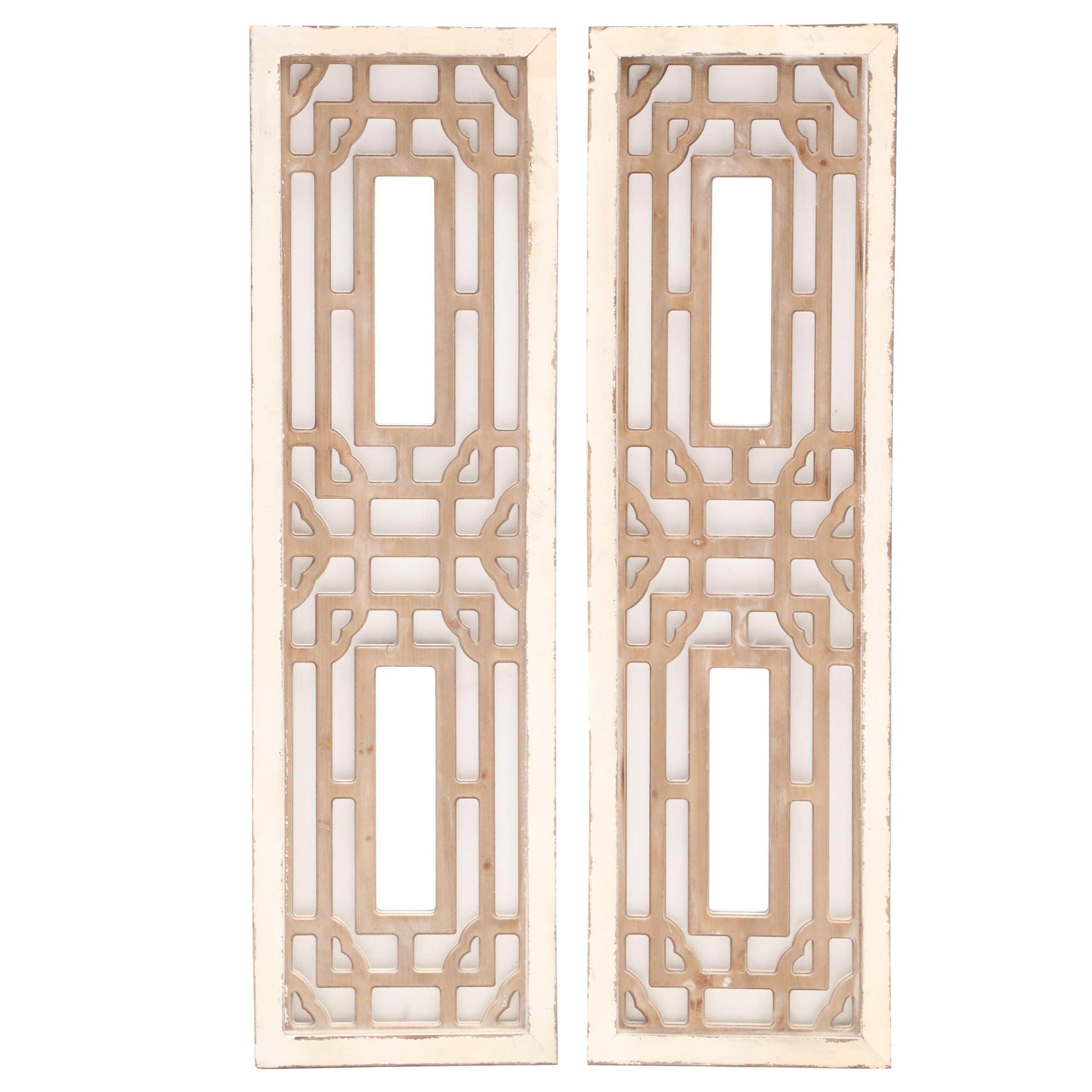 Decorative Mirrored Wall Panels by Kirkland