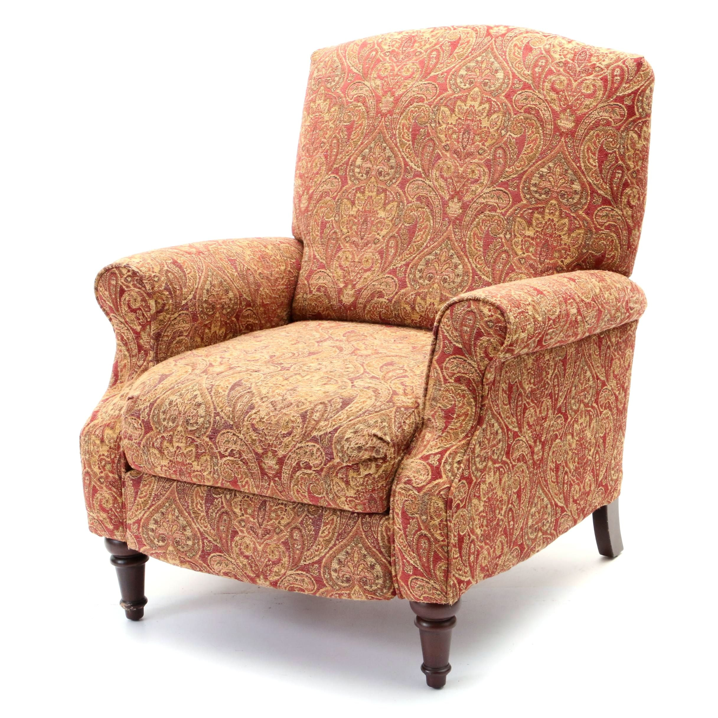 Upholstered Arm Chair Recliner