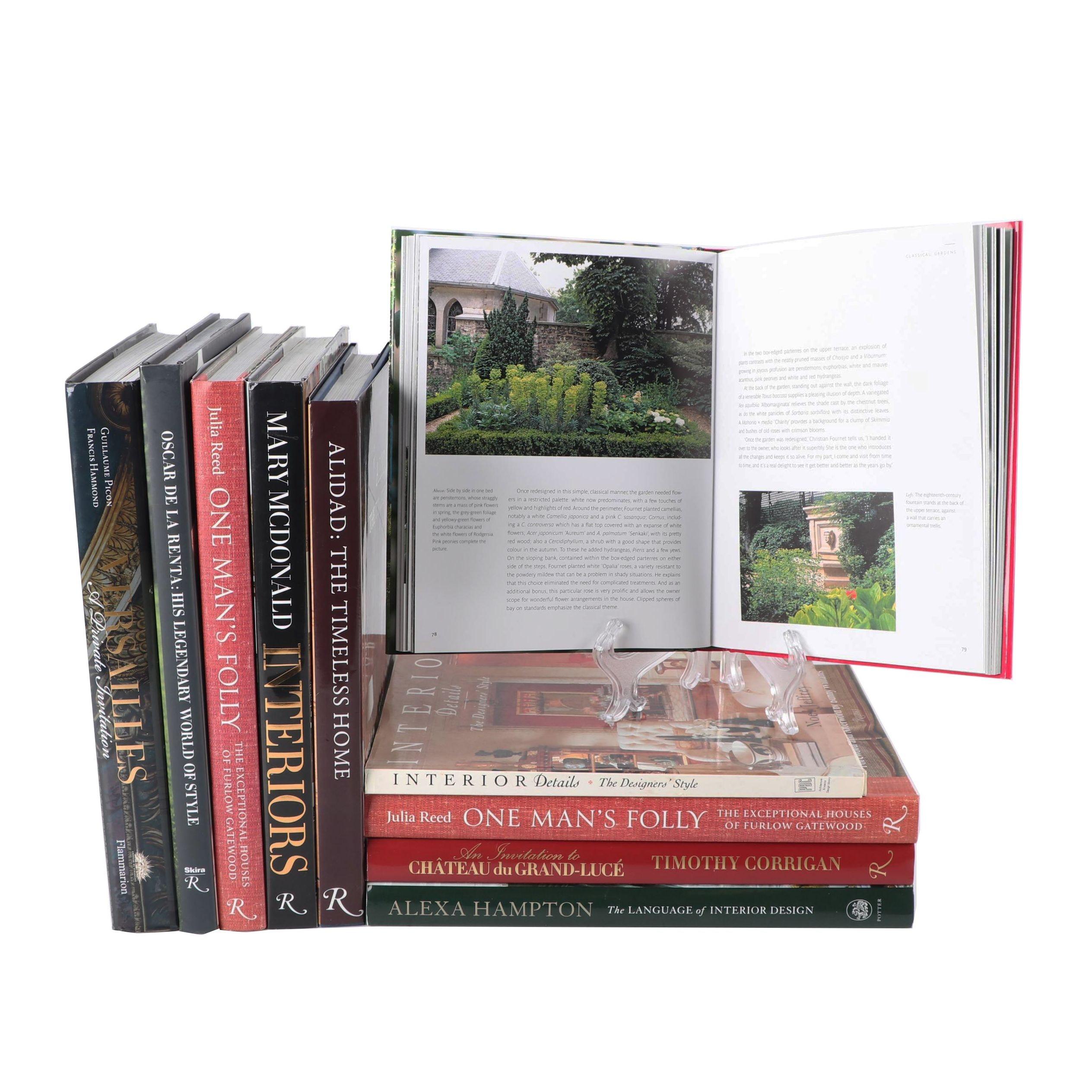 Home Decor and Design Books