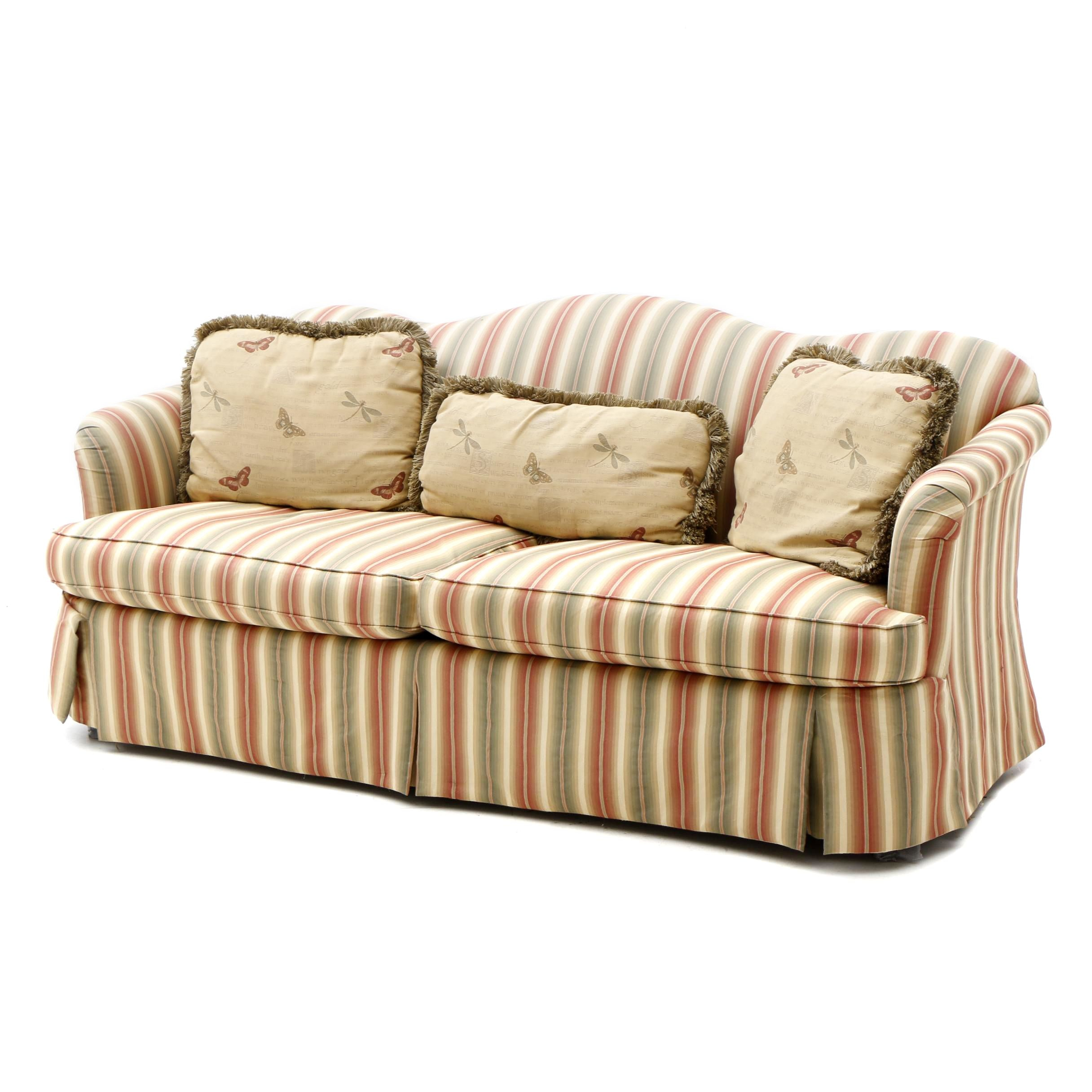 Sherrill Camel-Back Sofa