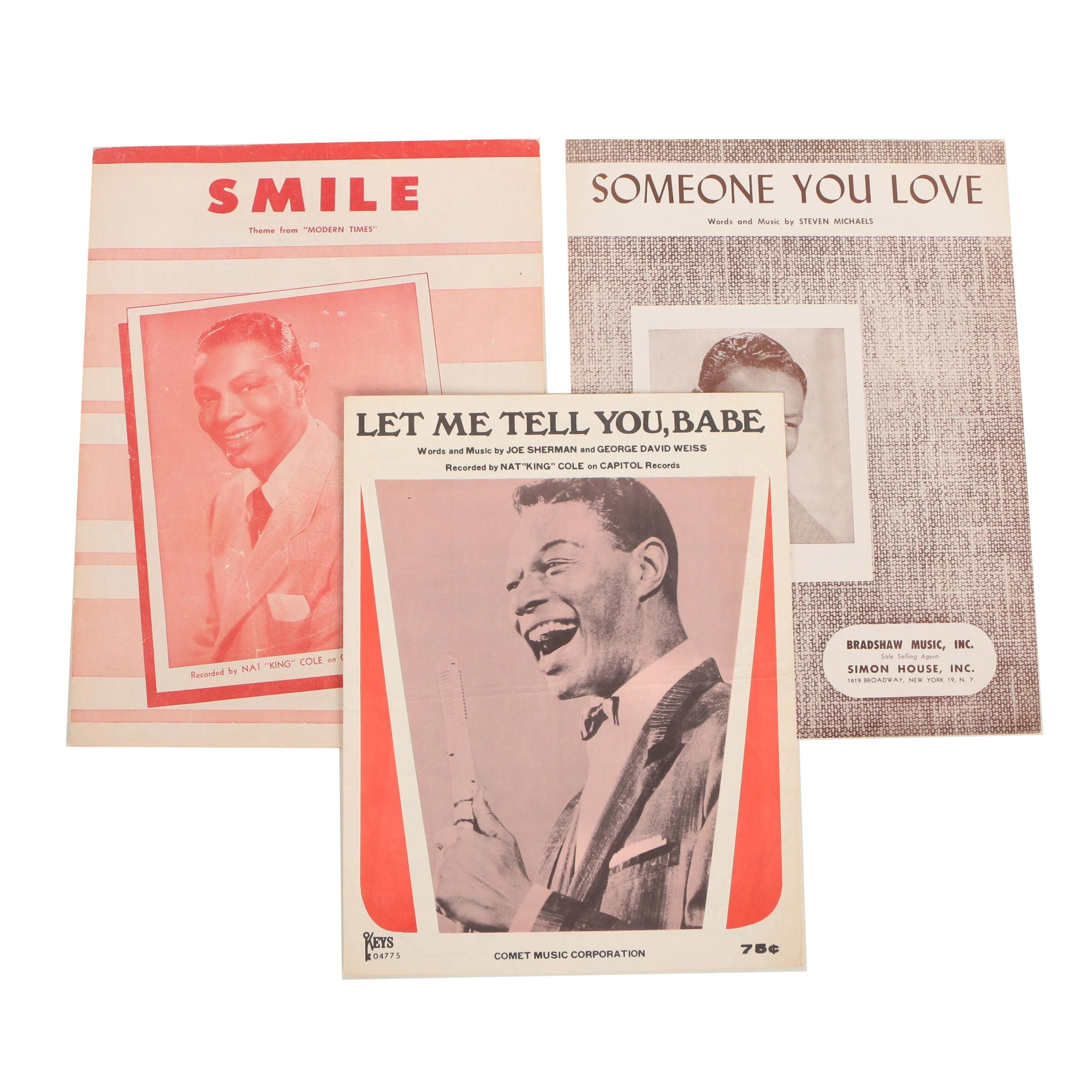 "Nat ""King"" Cole Sheet Music"