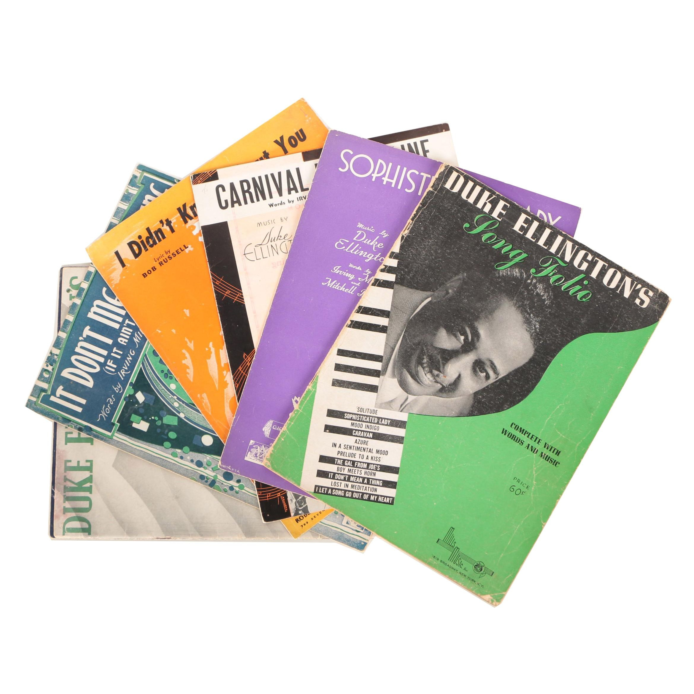 Duke Ellington Sheet Music
