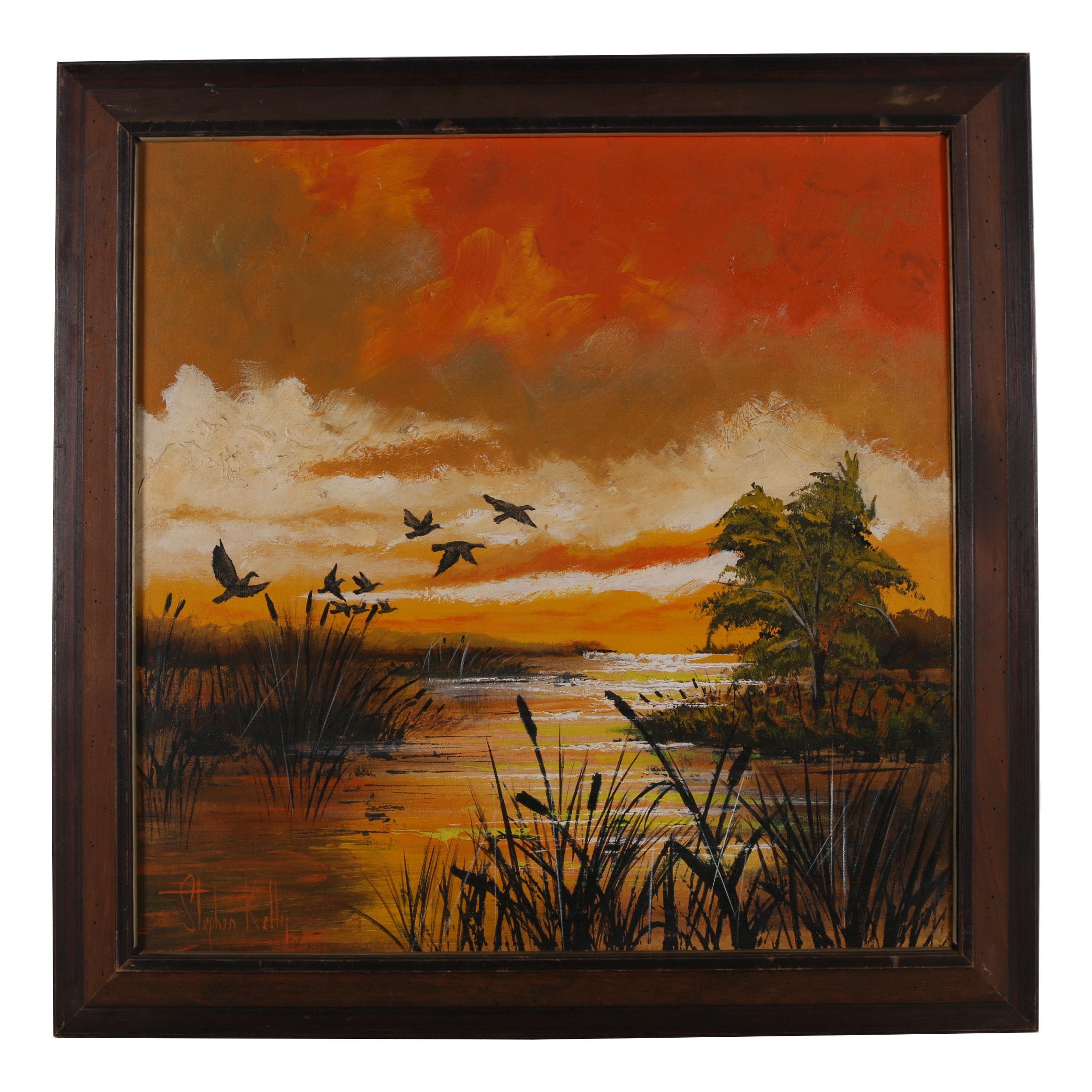 Stephen Kelly Acrylic Painting