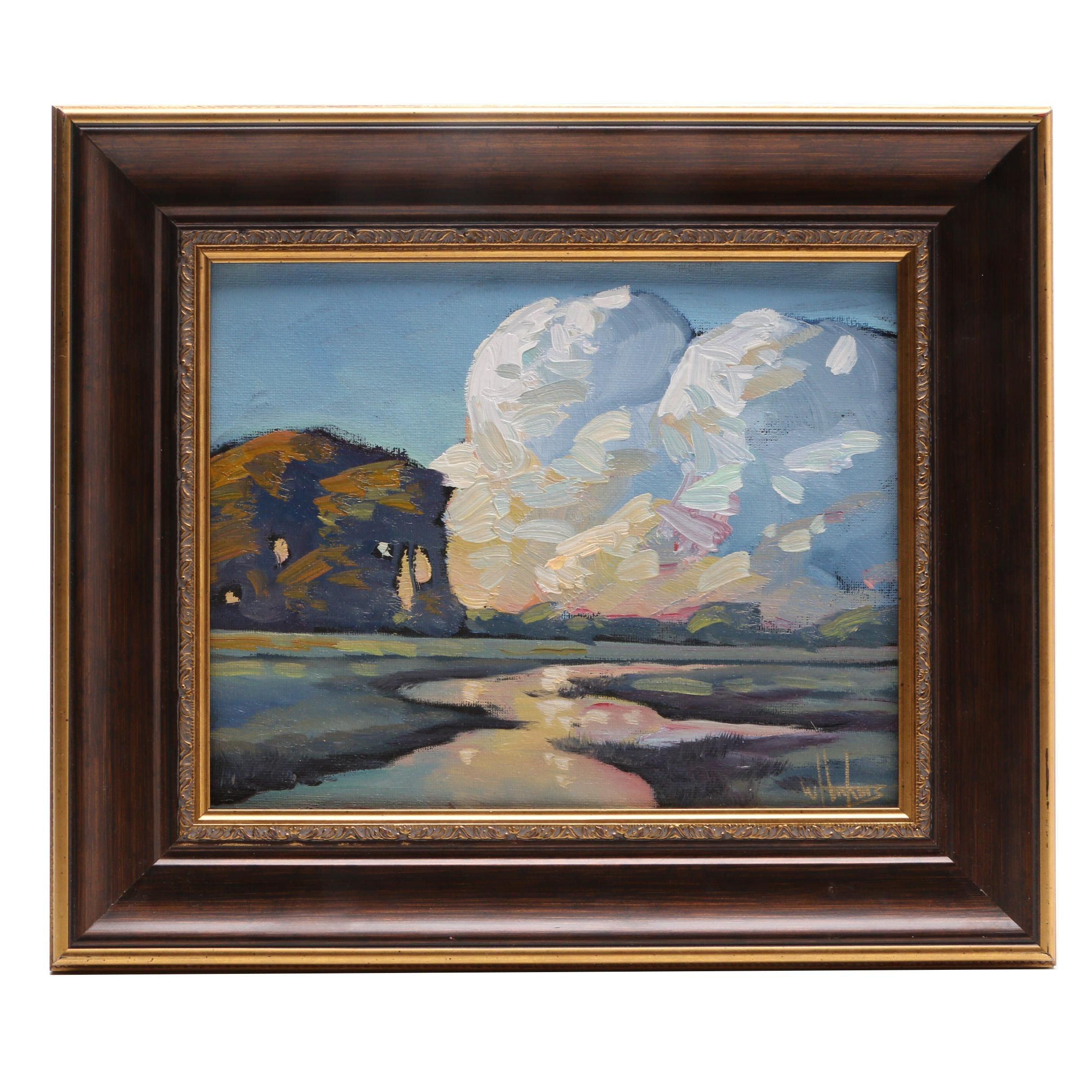 William Hawkins Oil Painting