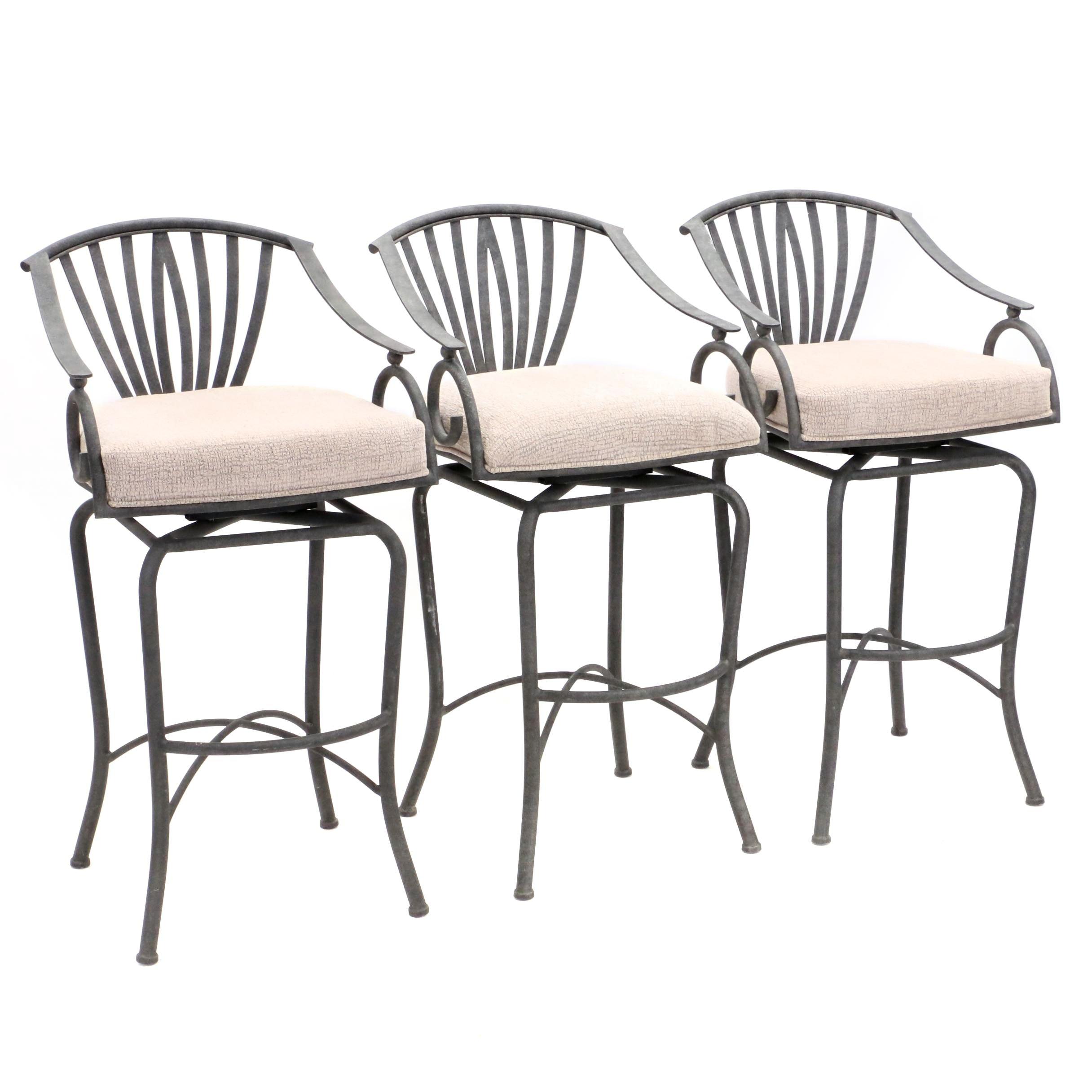Three Contemporary Barstools