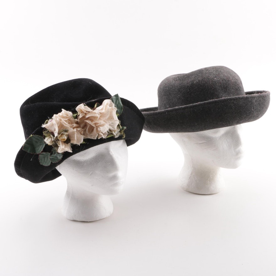 Women s Hats featuring The Scala Collection and Halo Hats   EBTH fd06cdd08610
