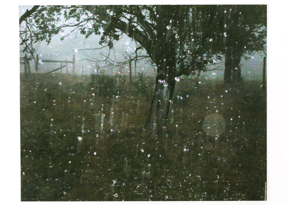 Color Photograph of Rainstorm
