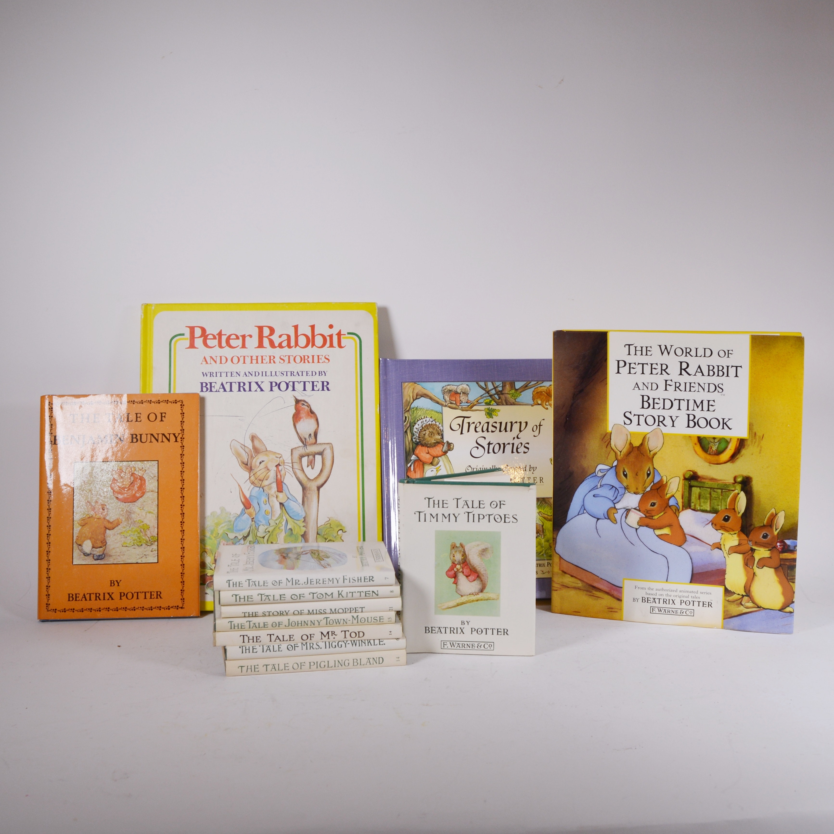 """The Tale of Benjamin Bunny"" and Other Books by Beatrix Potter"