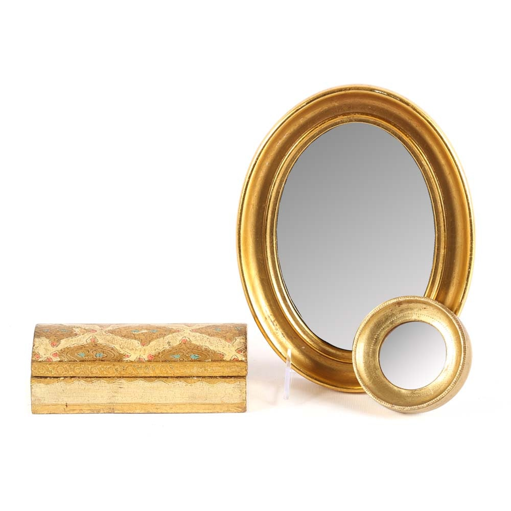 Florante Trinket Box and Mirrors