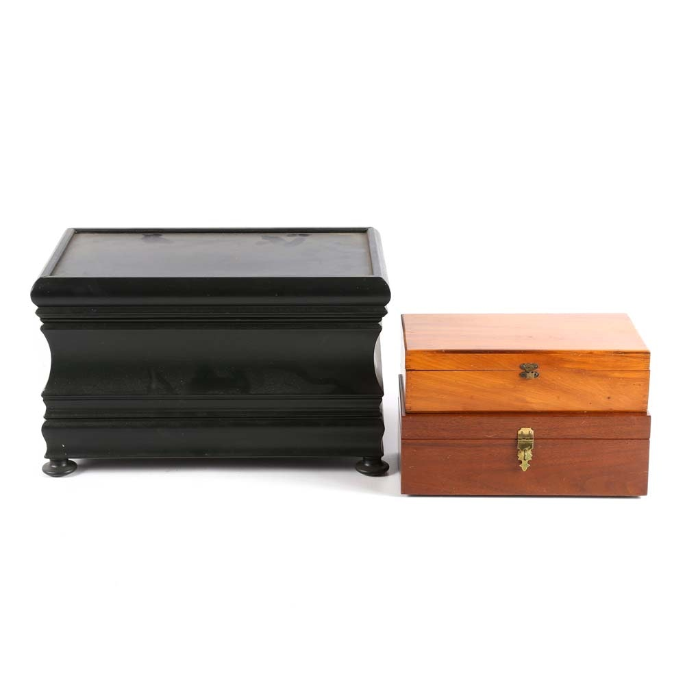 Vintage Decorative Storage Boxes