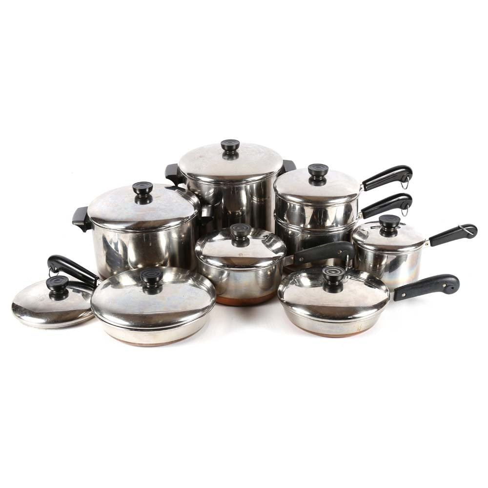 Revere Ware Pots and Pans