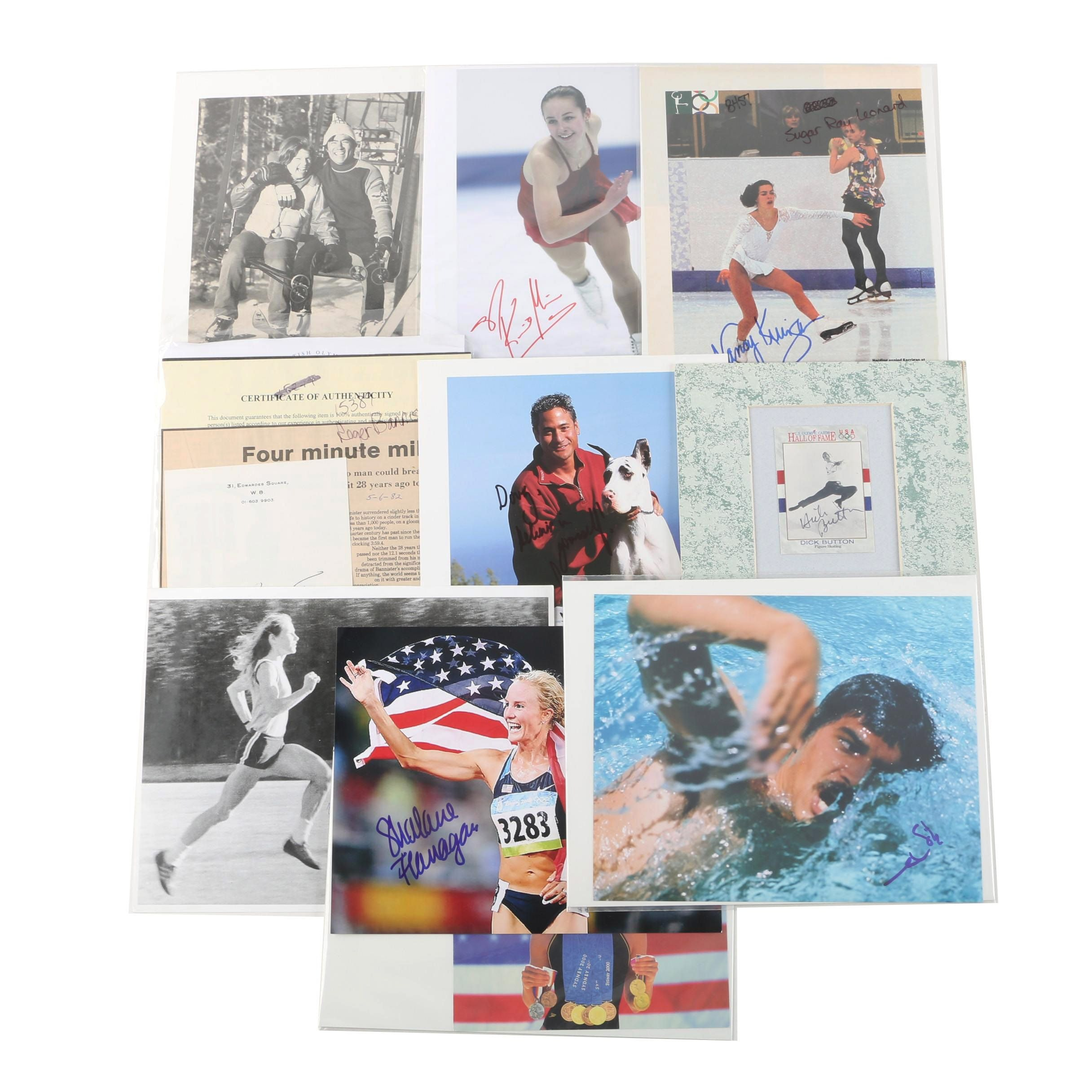 Nancy Kerrigan, Greg Louganis and Other Olympic Autographs