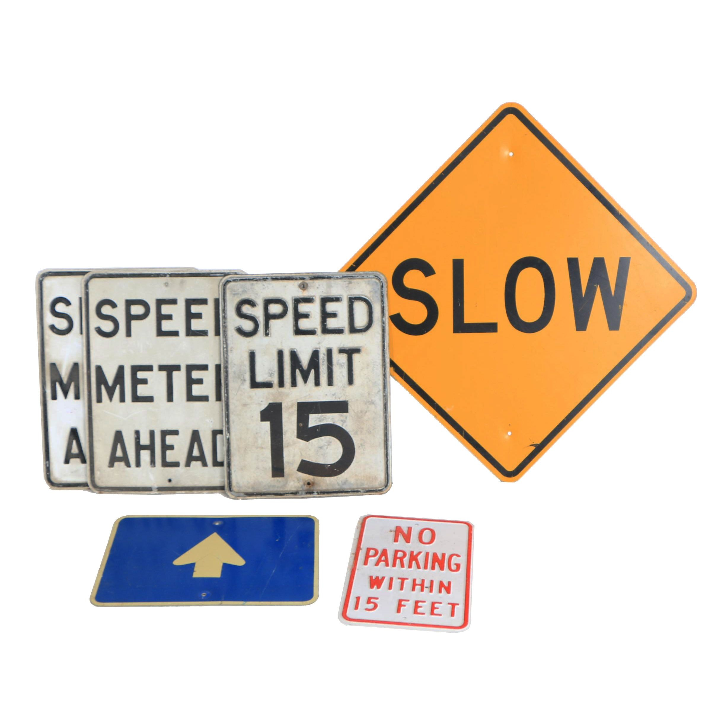 Speed Limit and Other Street Signs