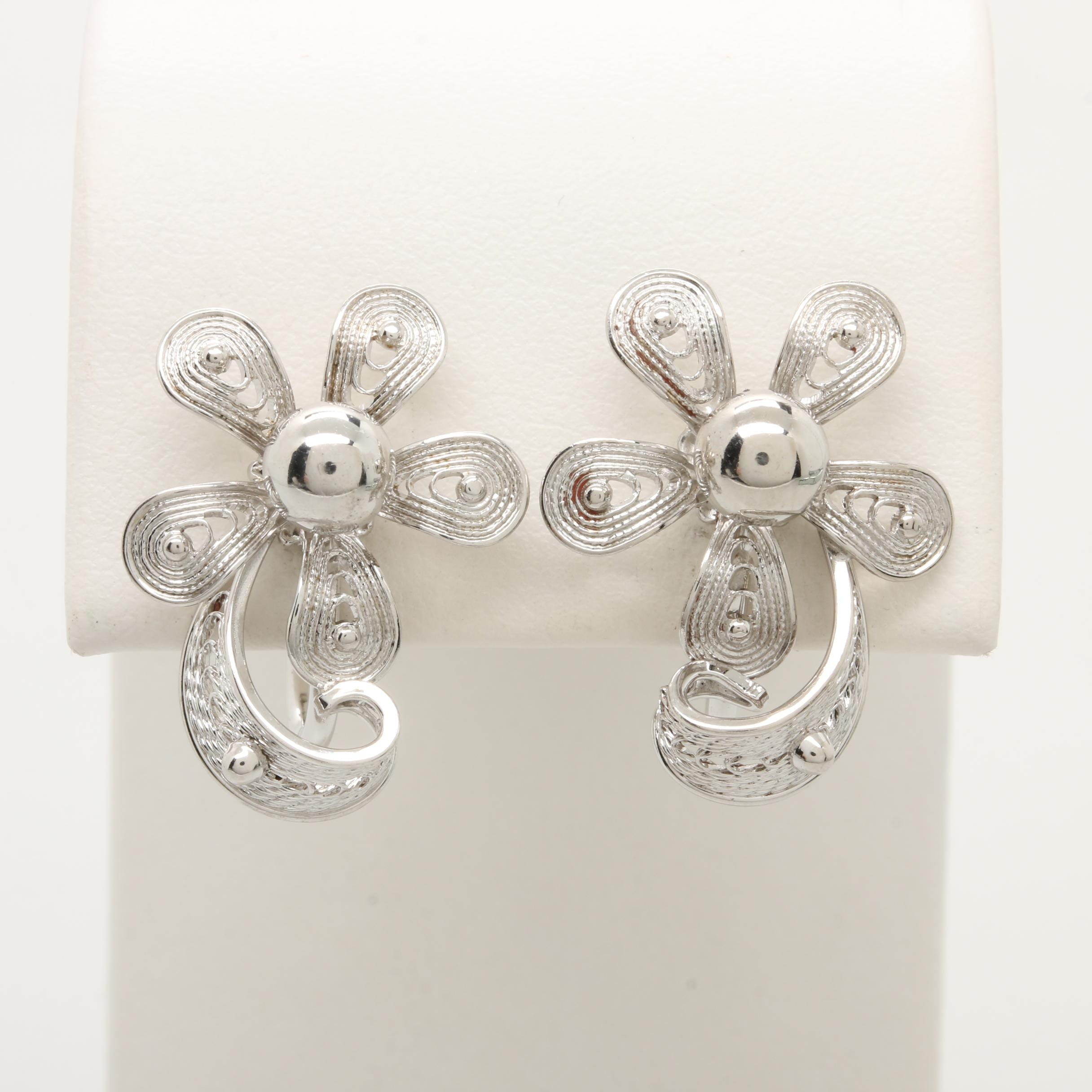 Van Dell Sterling Silver Earrings