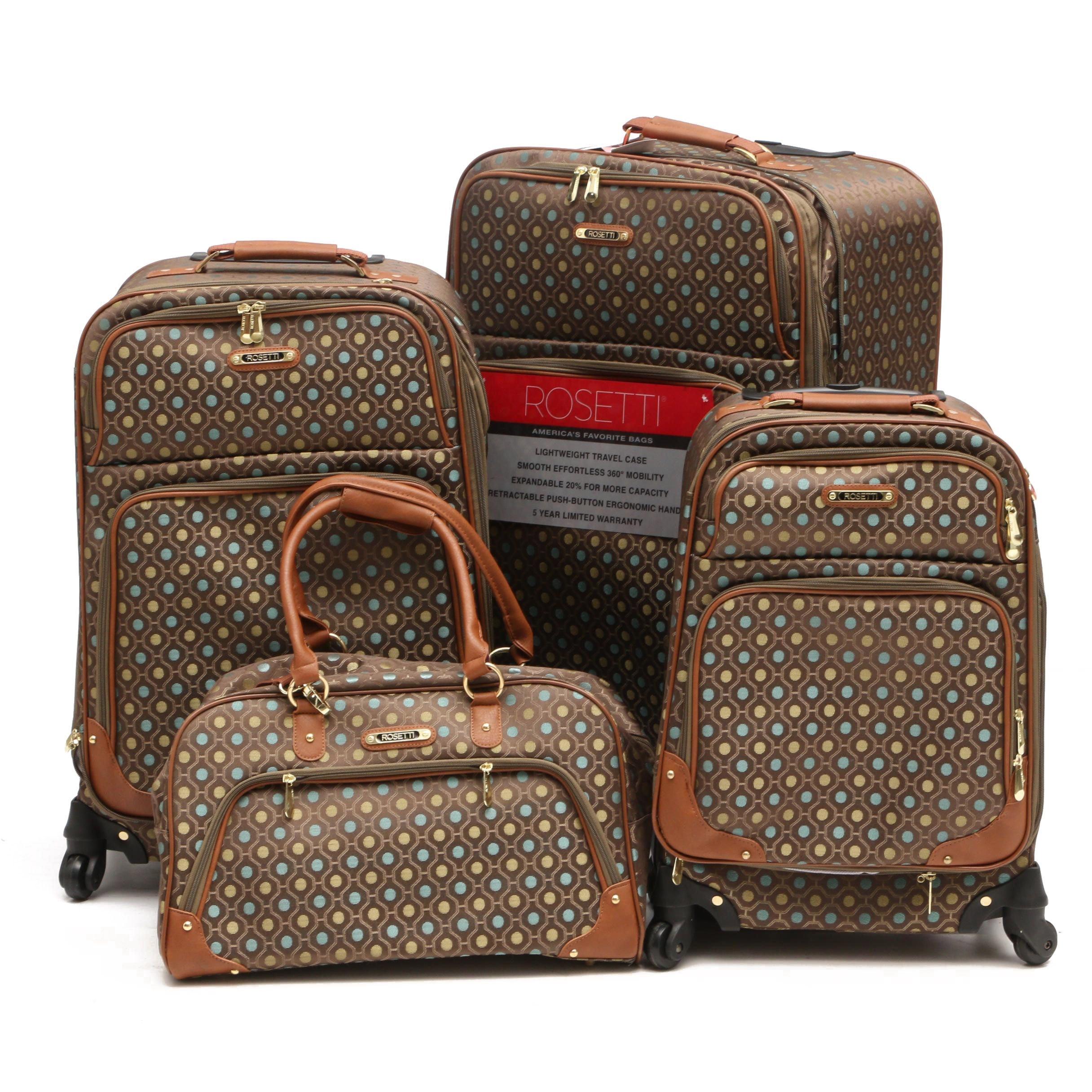 "Rosetti ""Lighten up Collection"" Luggage Set"