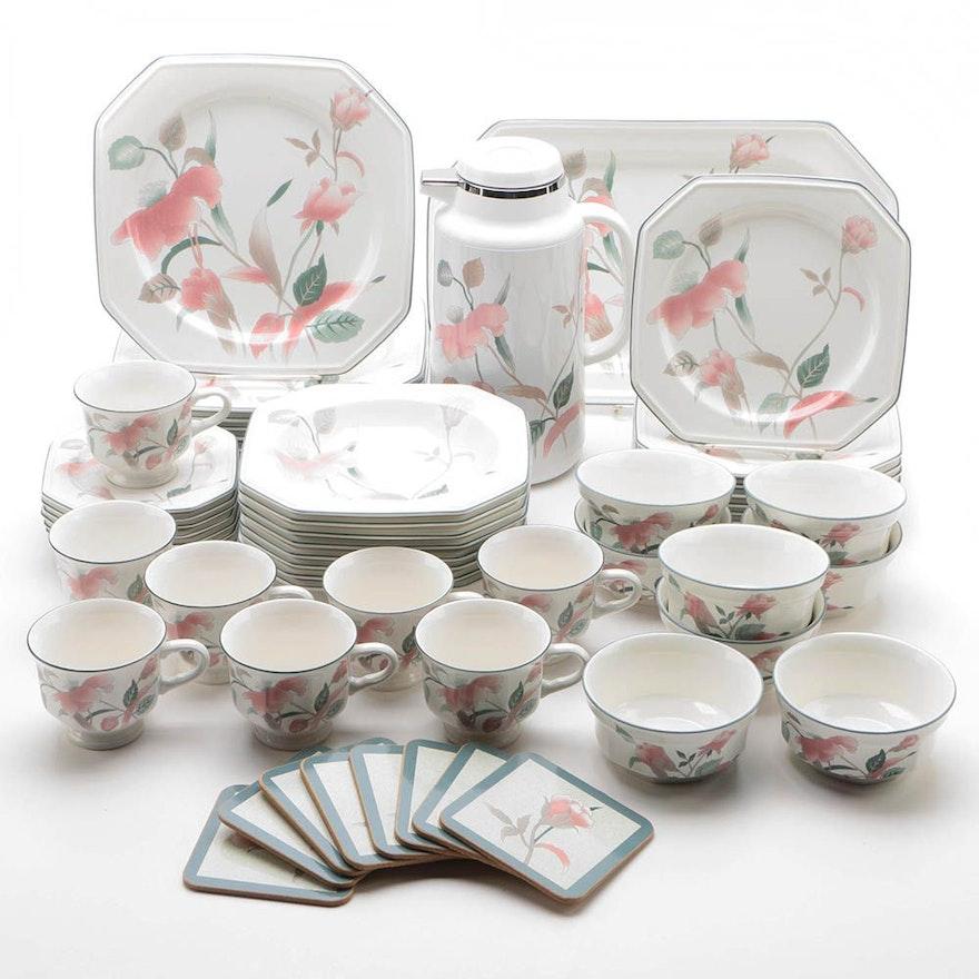 Mikasa silk flowers dinnerware ebth mikasa silk flowers dinnerware mightylinksfo