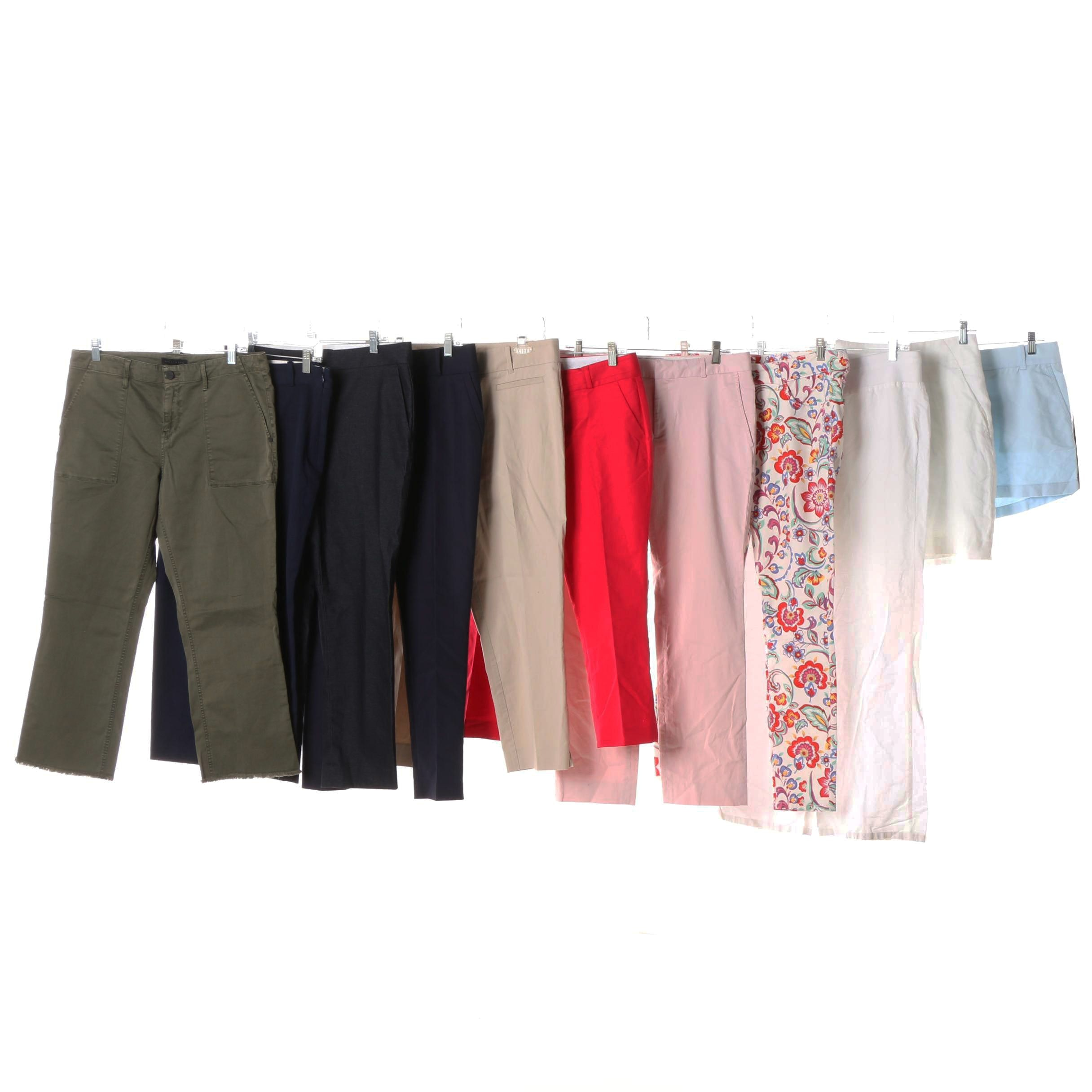 Women's Pants, Skirt and Shorts including Ann Taylor, Banana Republic and J.Crew