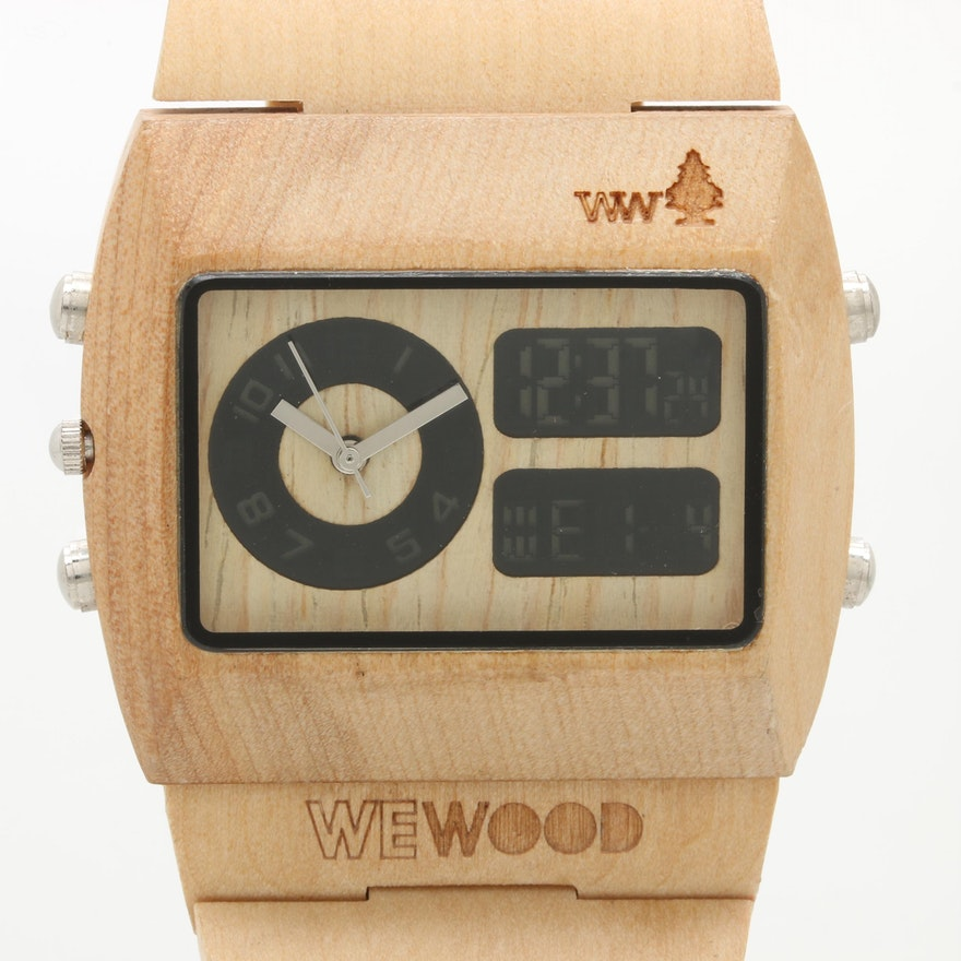 770aa234794a WeWood Natural Wood Wristwatch   EBTH