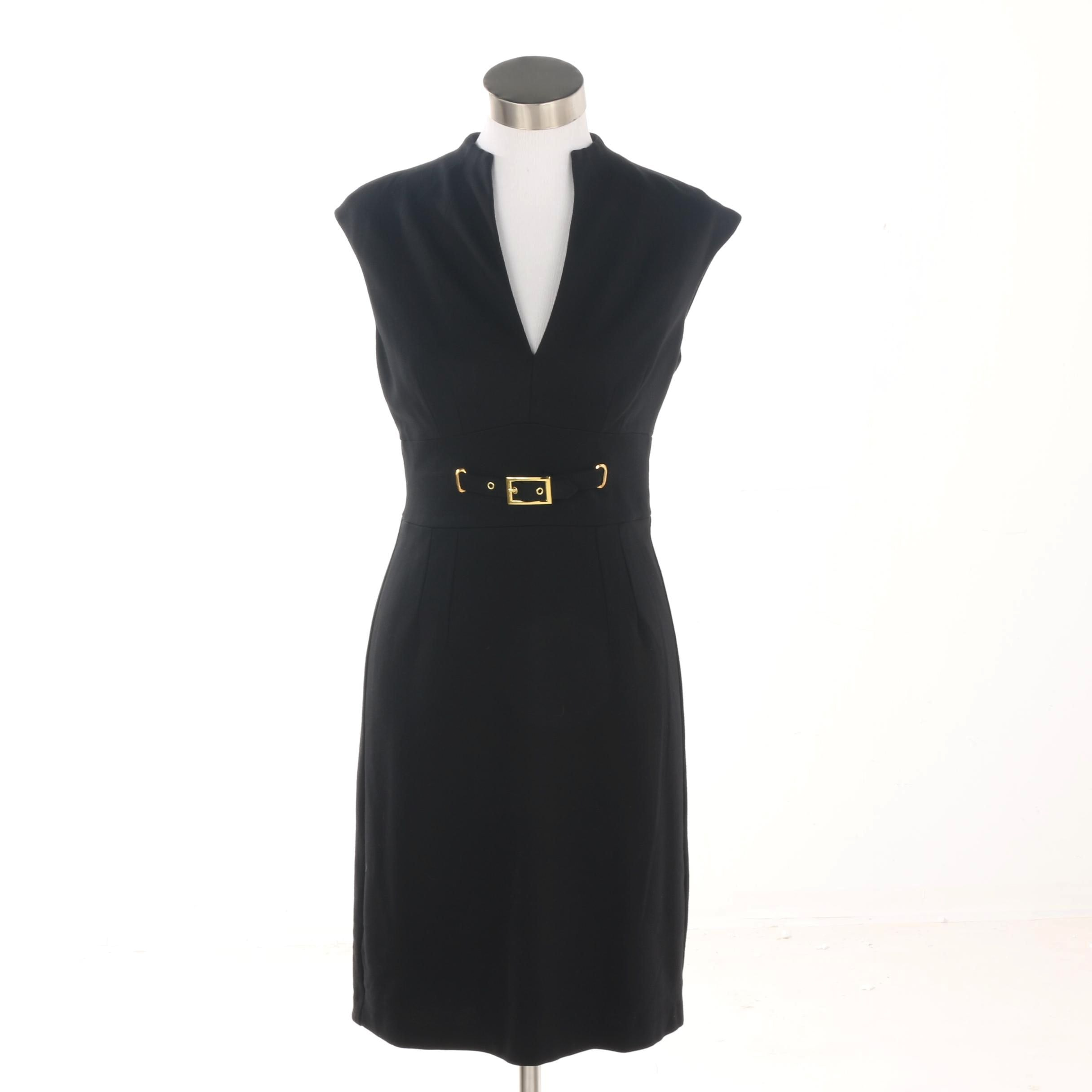 Trina Turk Black Cocktail Dress