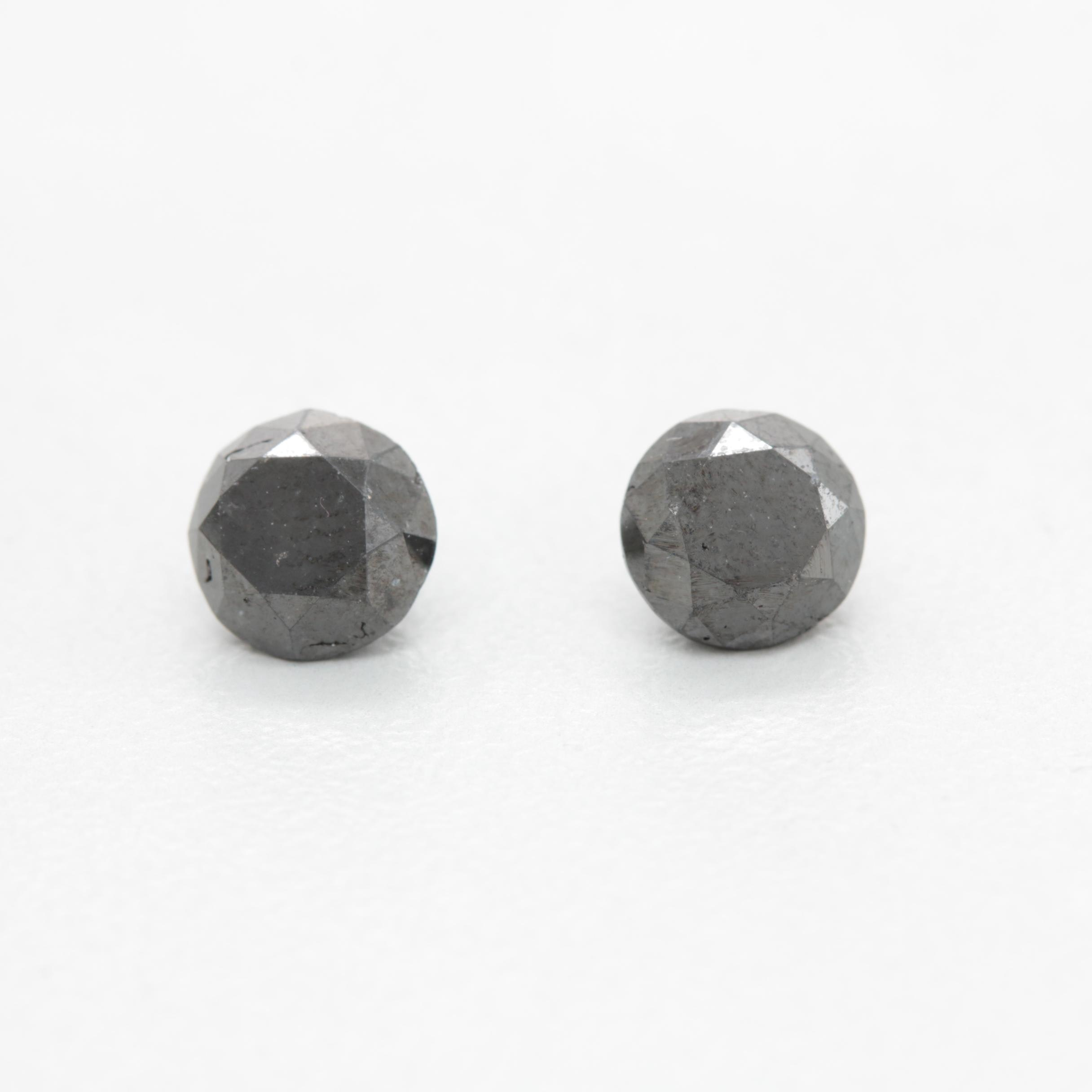 Loose 2.31 CTW Black Diamonds