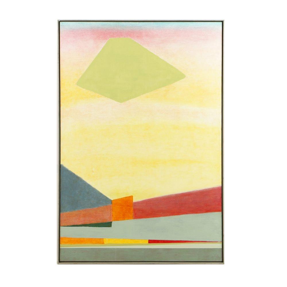 "Beth Hertz 1977 Oil Painting on Canvas ""California I"""