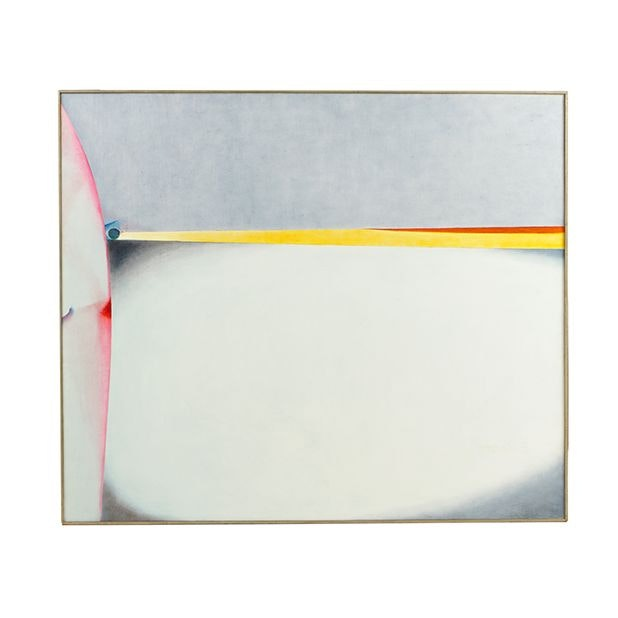 "Beth Hertz Oil Painting ""Fledging 76 III"""