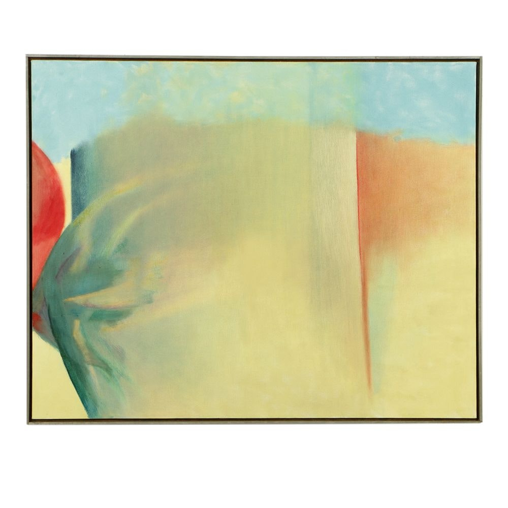 "Beth Hertz Monumental Oil Painting ""Untitled"""