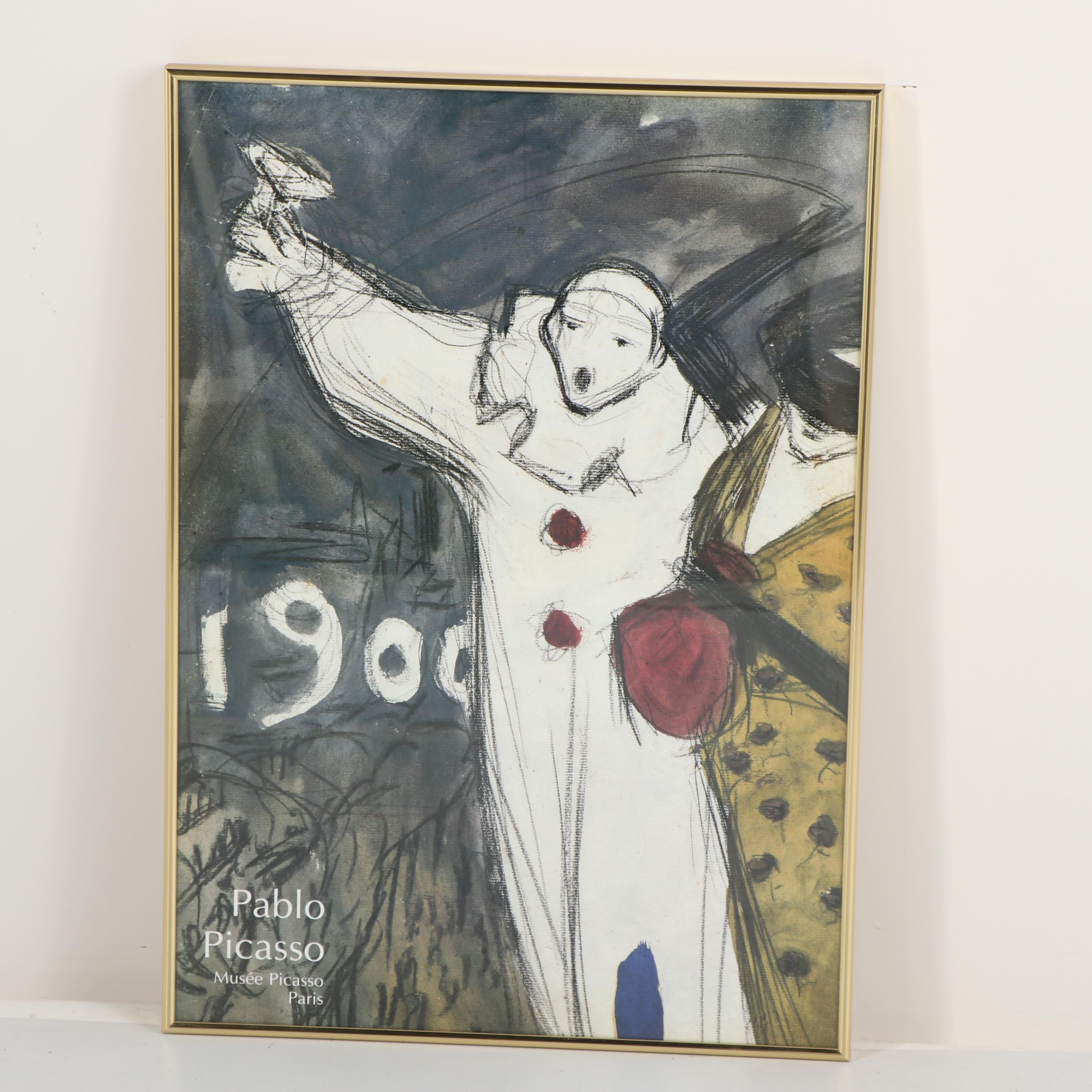Musée Picasso Offset Lithograph Poster after Pablo Picasso