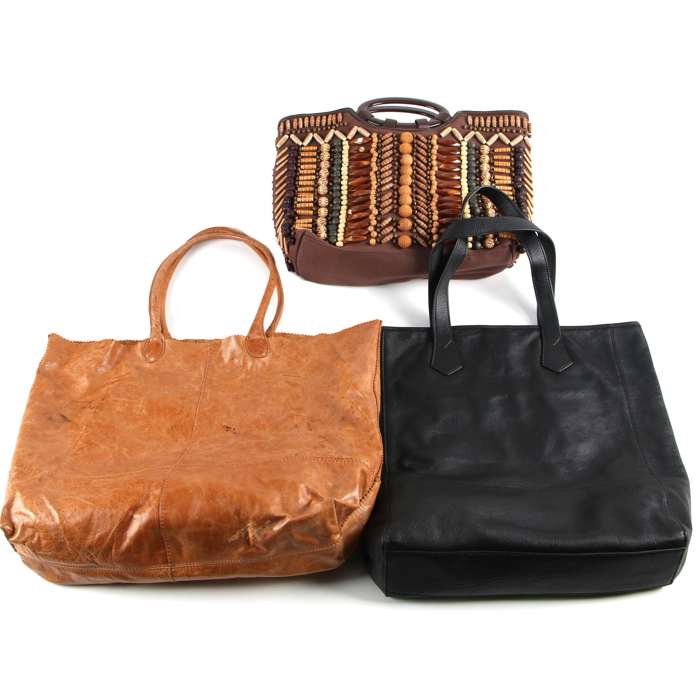 Chico's, Hobo, and Gump's Bags including Leather