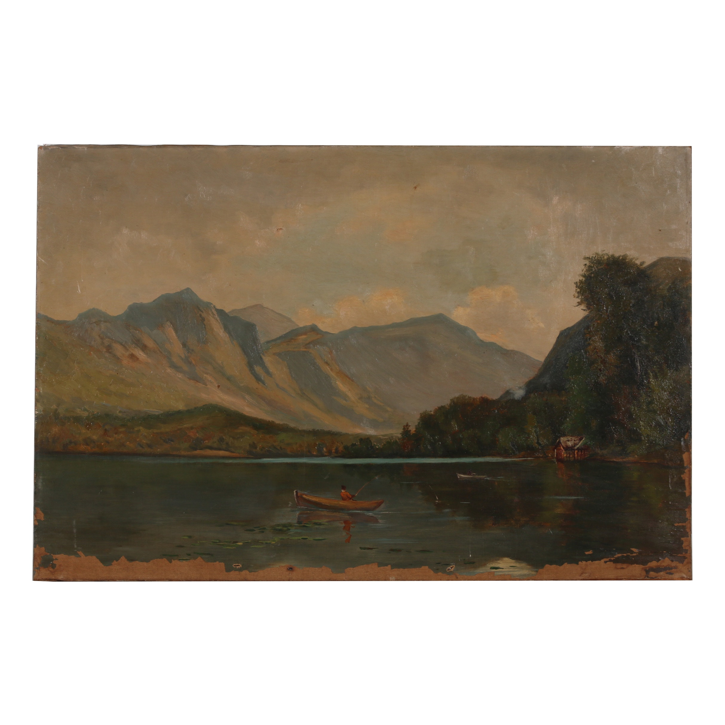 Mid-Late 19th Century Oil Painting